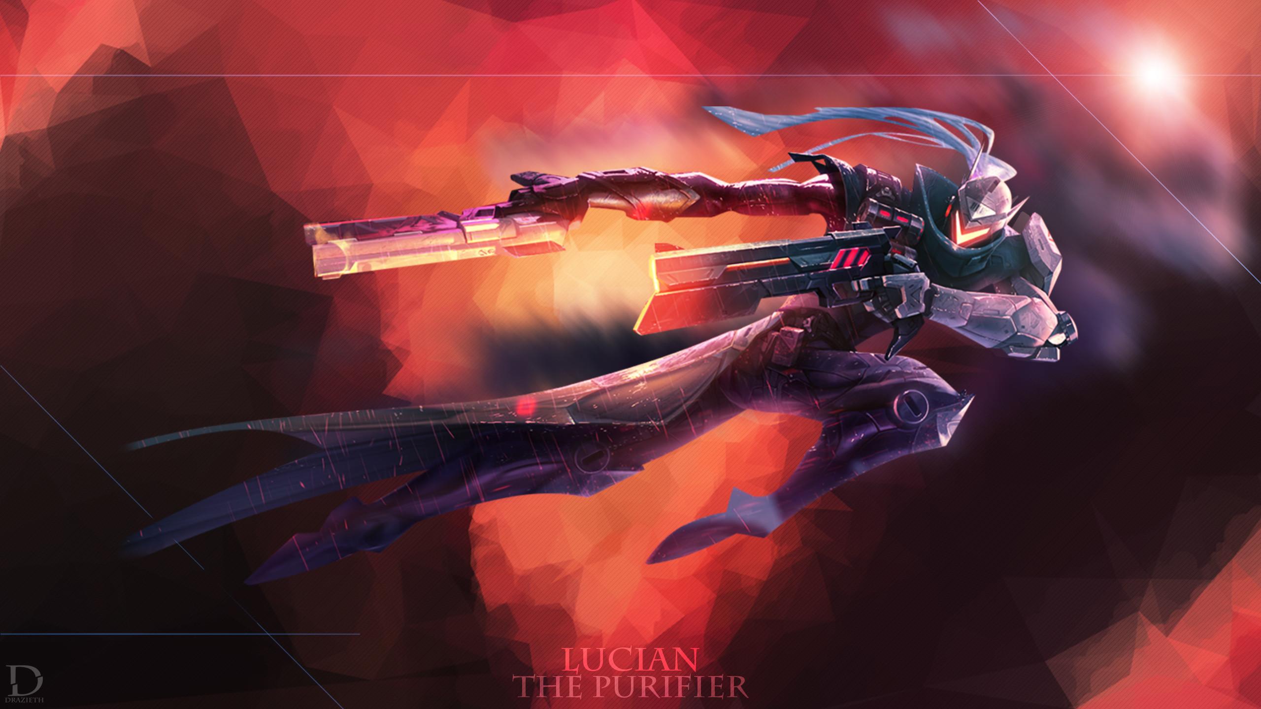 PROJECT Lucian by Drazieth HD Wallpaper Fan Art Artwork League of Legends  lol