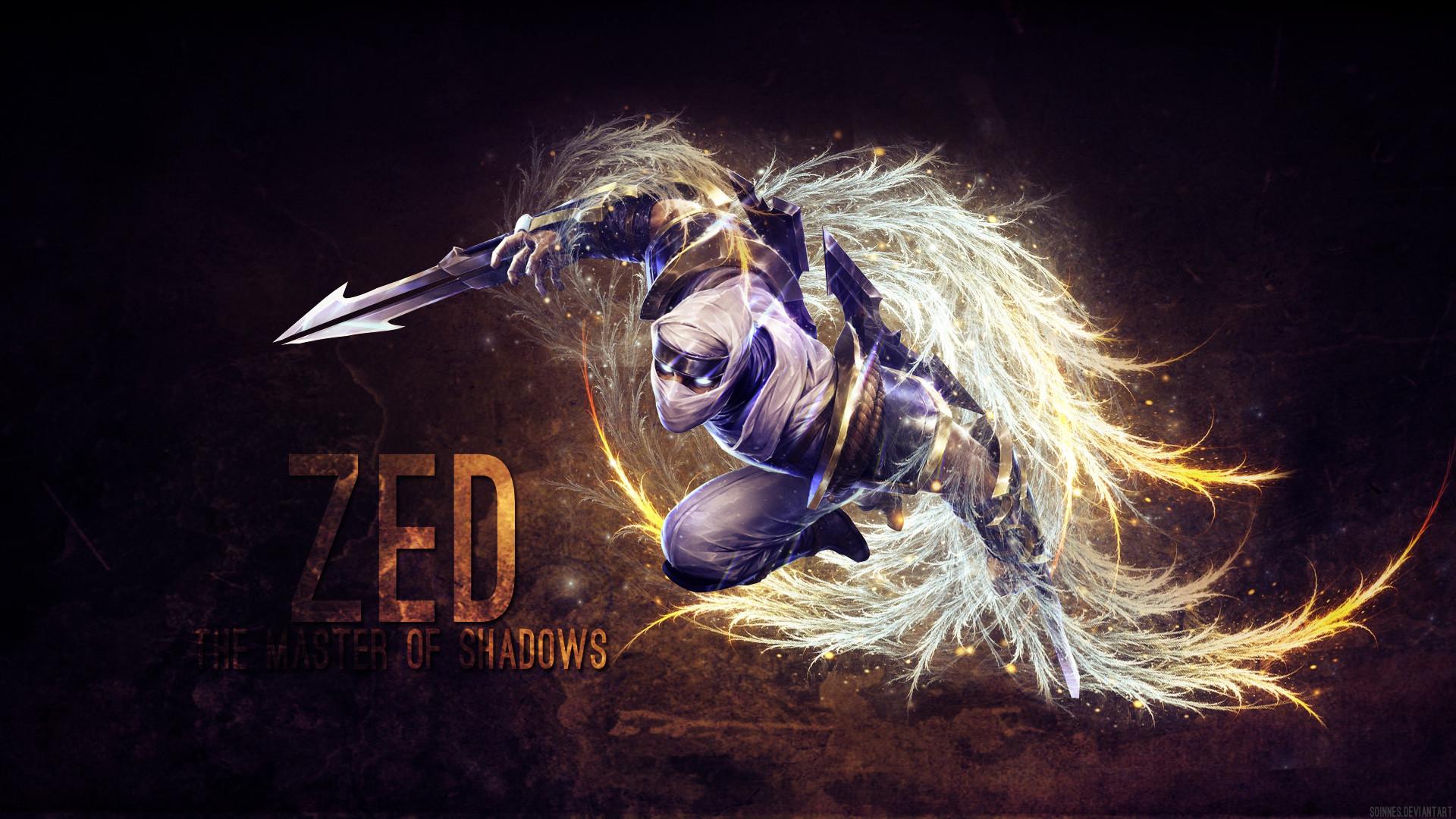 Zed by Soinnes (3) League of Legends Artwork Wallpaper lol