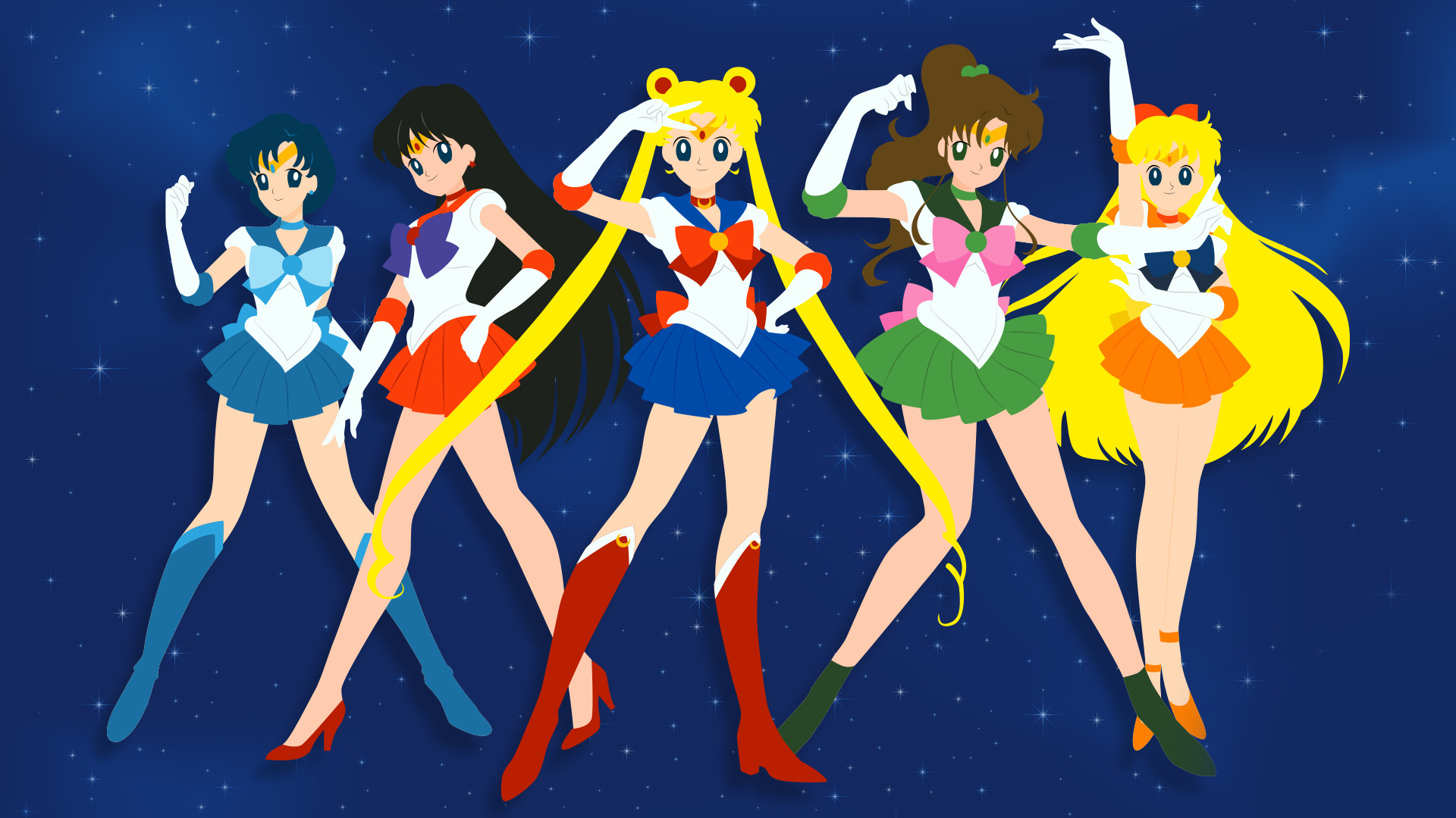 Sailor Moon Wallpapers and Photos In FHDQ For Download 1920×1080