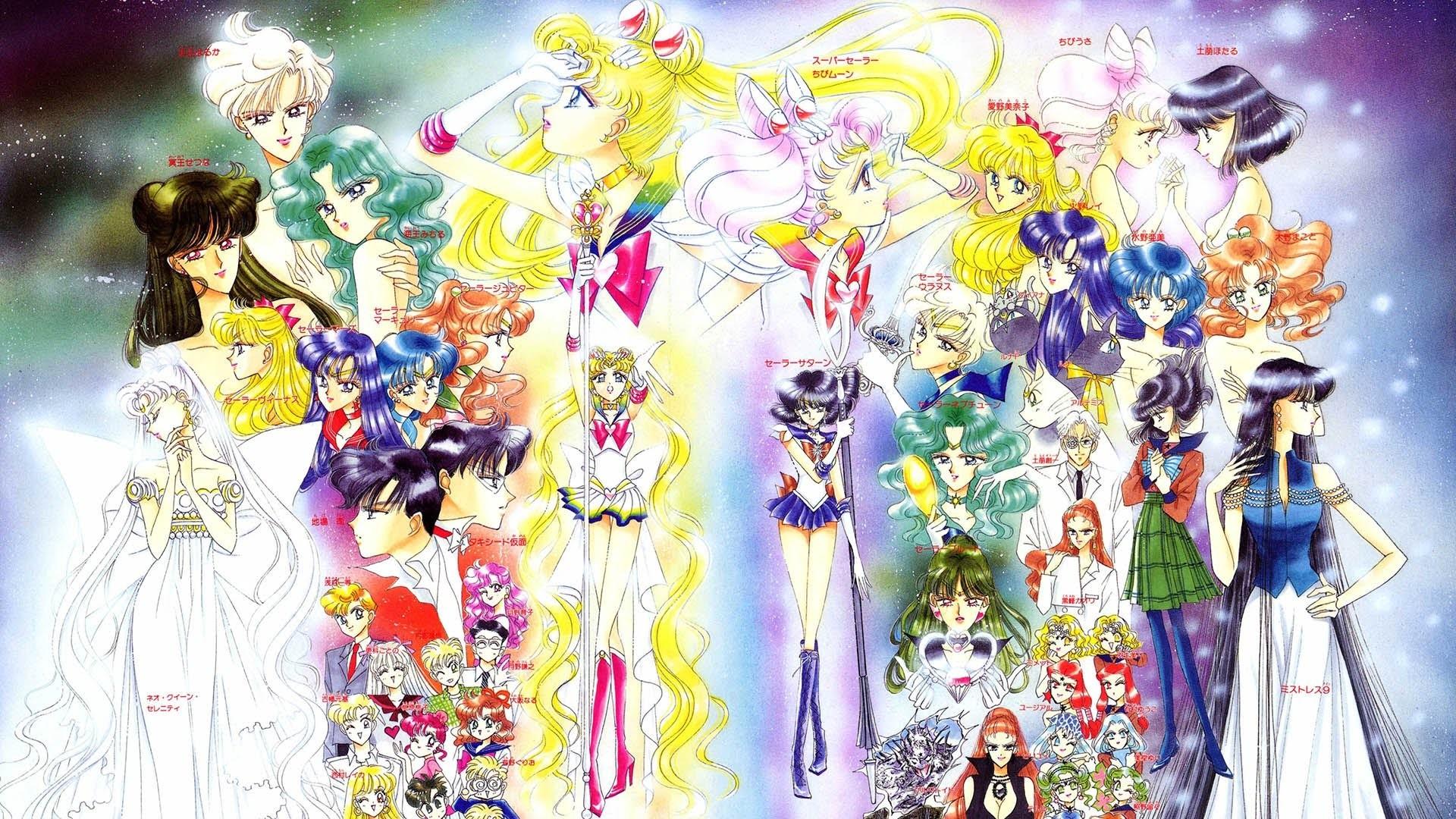 Sailor Moon – The History of Sailors / La Historia de las Sailors – YouTube
