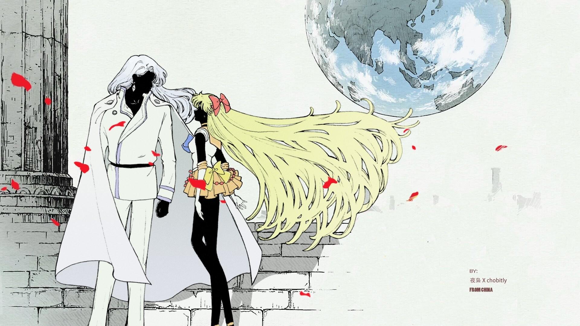 Anime series sailor moon couple venus wallpaper | | 667816 |  WallpaperUP
