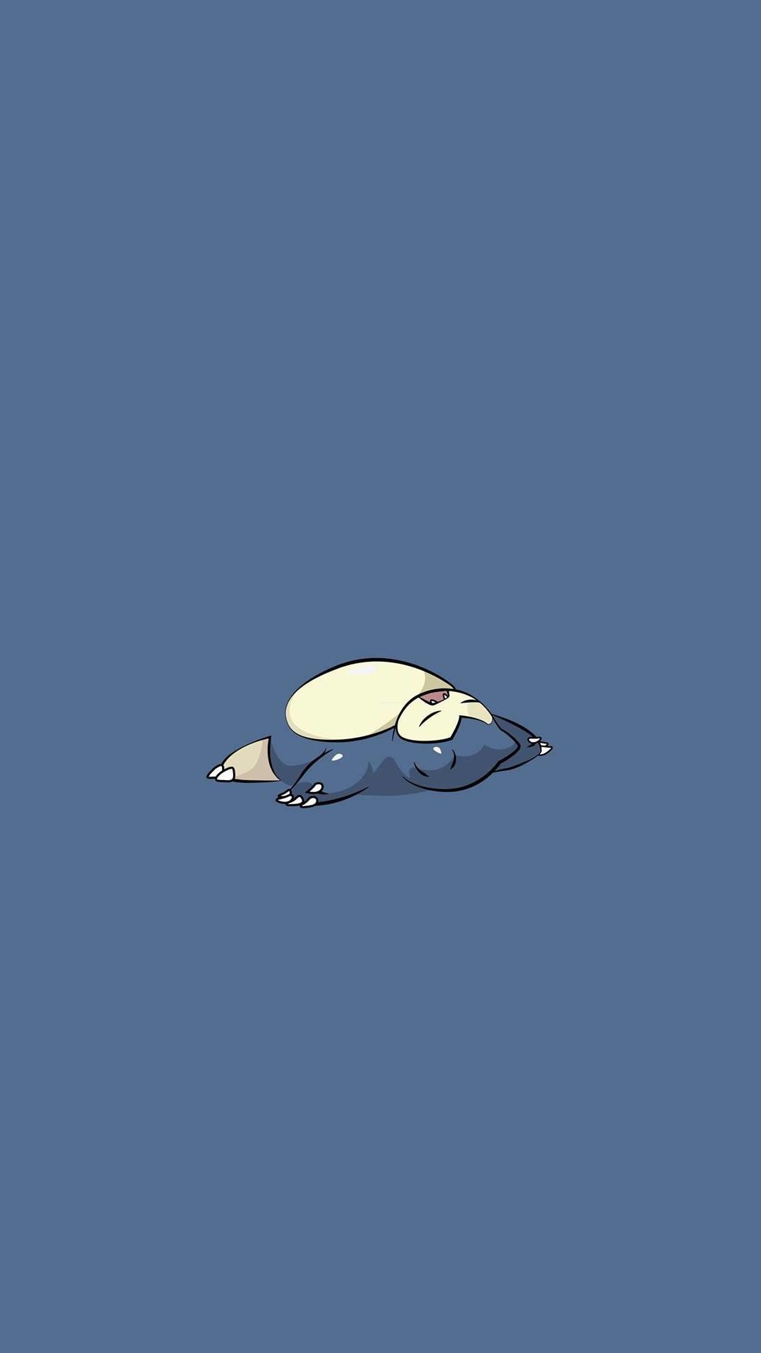 Snorlax Pokemon iPhone 6+ HD Wallpaper …