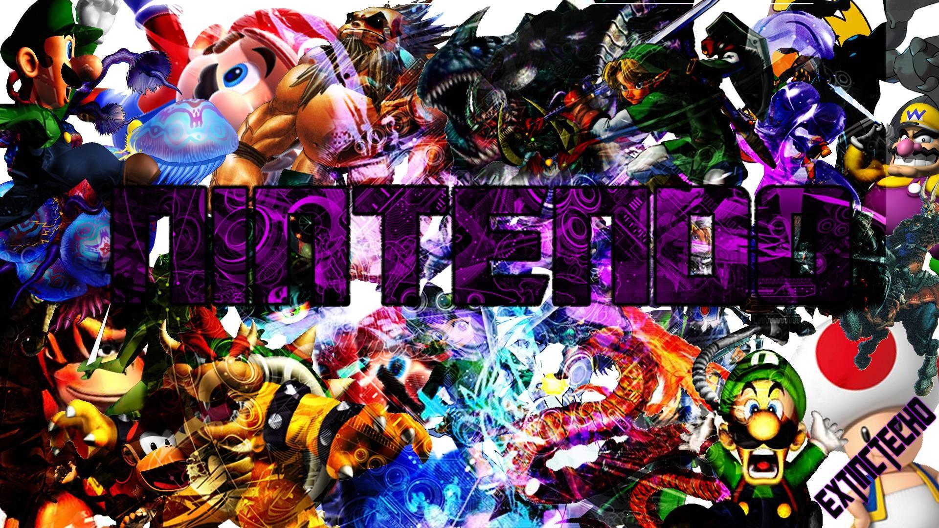 Mega Nintendo Wallpaper HD by ExtinctEcho on DeviantArt