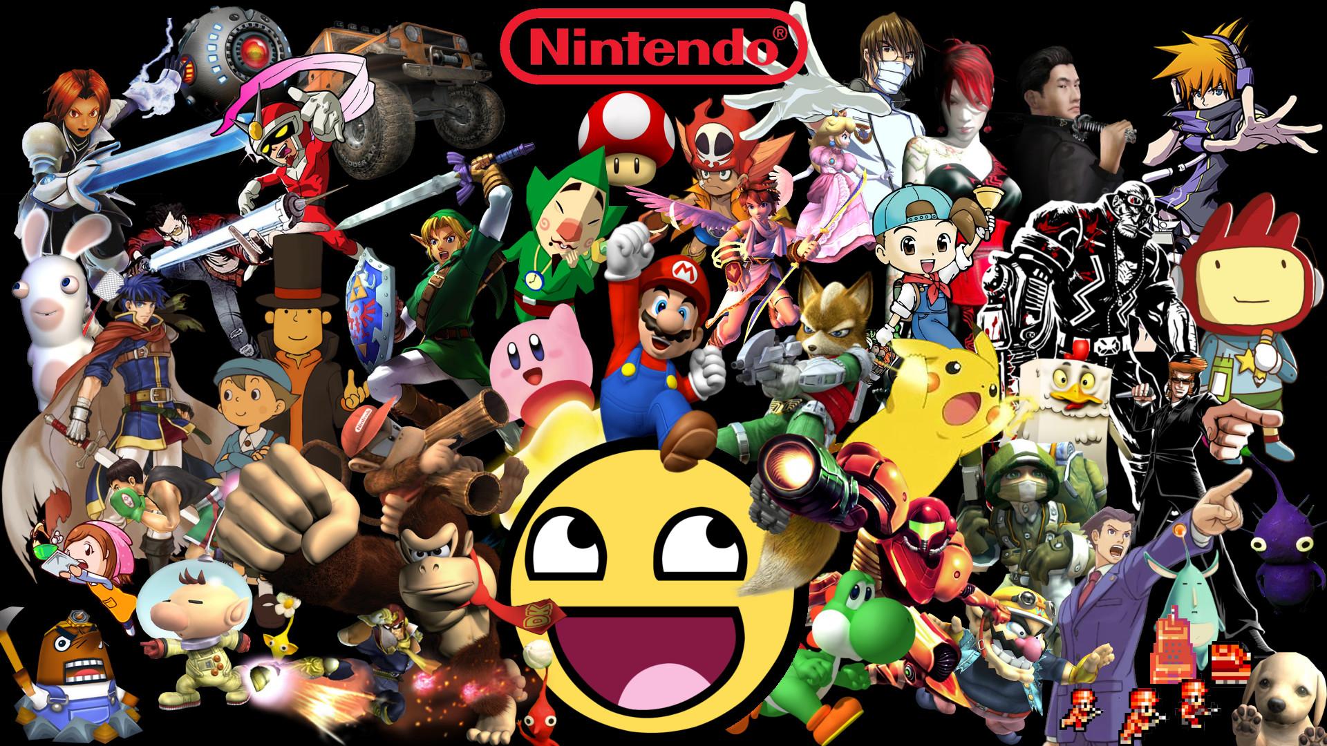 Awesome Nintendo Wallpaper