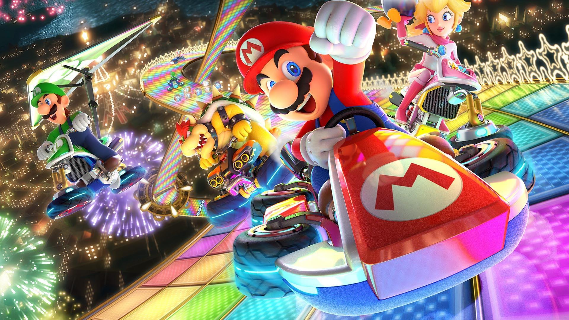 Mario Kart 8 Deluxe Nintendo Switch wallpaper