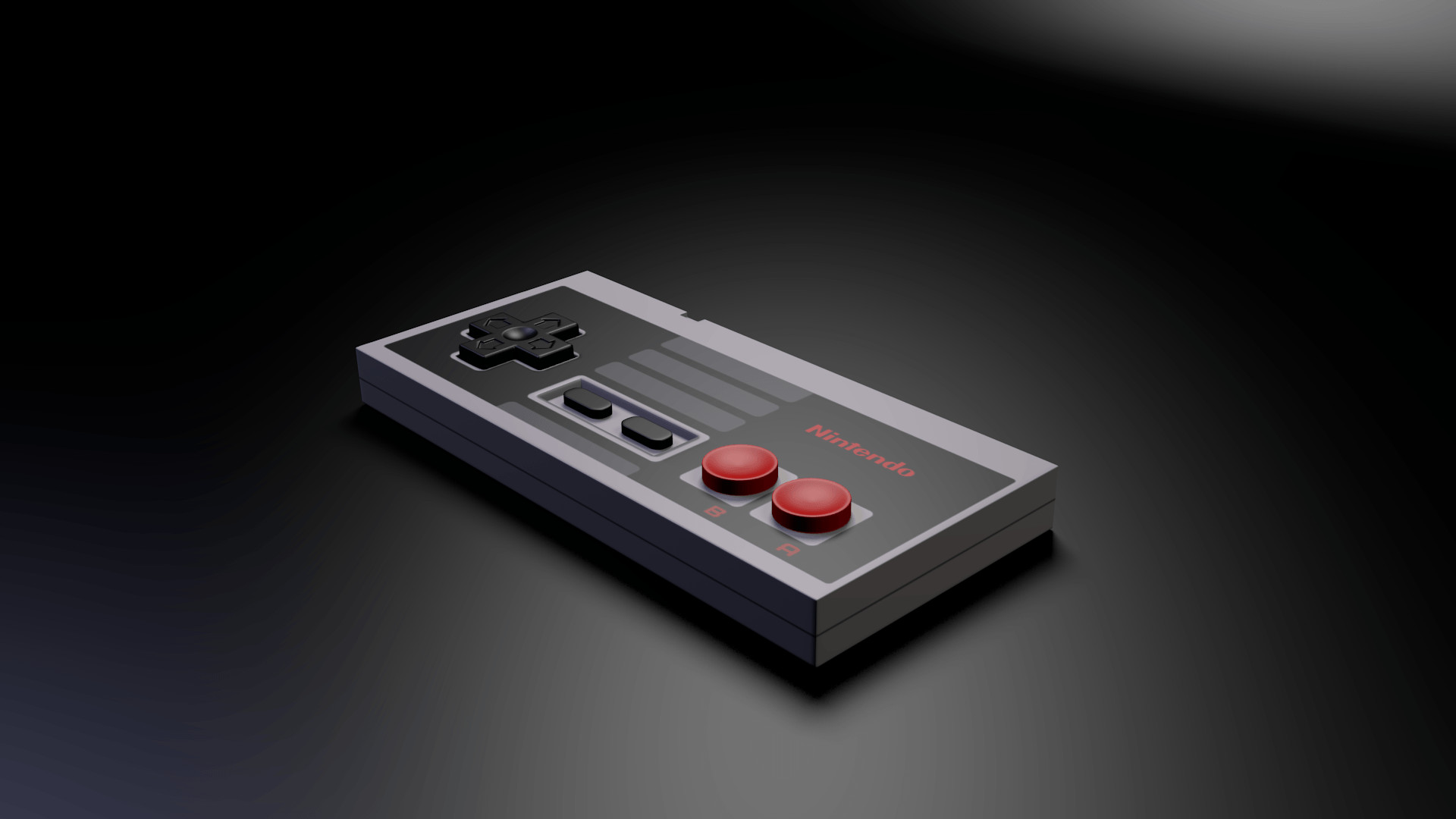 Nintendo Nes Game Console Console Controllers 1440×900 Wallpaper