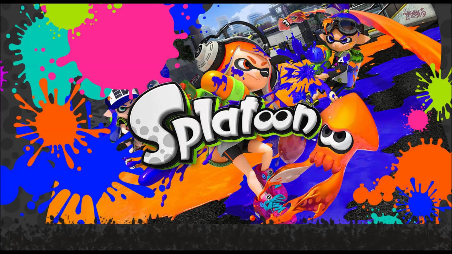 Splatoon Colored Nintendo Wii U Game wallpaper