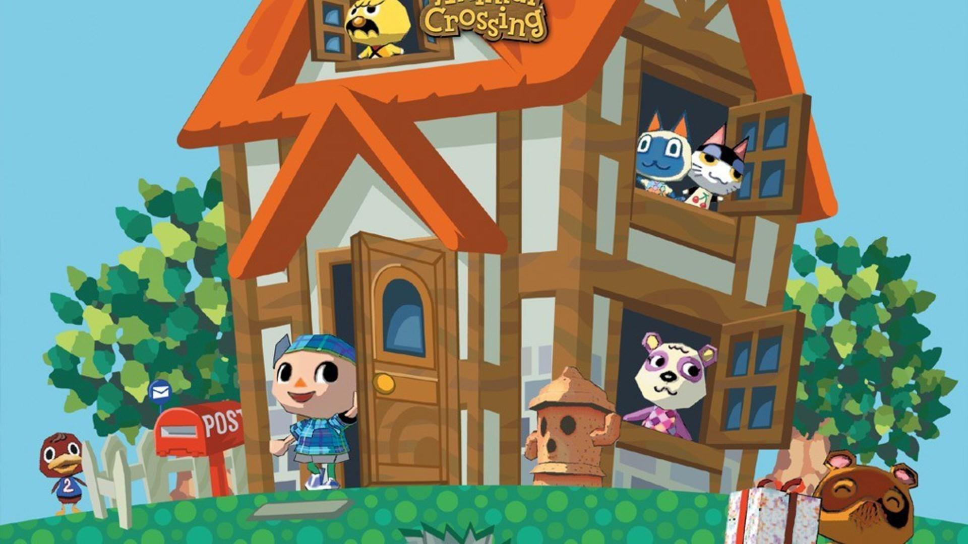 nintendo house gamecube animal crossing wallpaper
