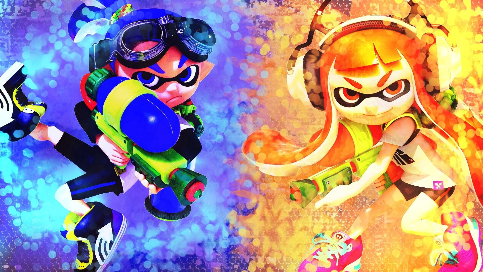 Video Game – Splatoon Inkling (Splatoon) Nintendo Wallpaper
