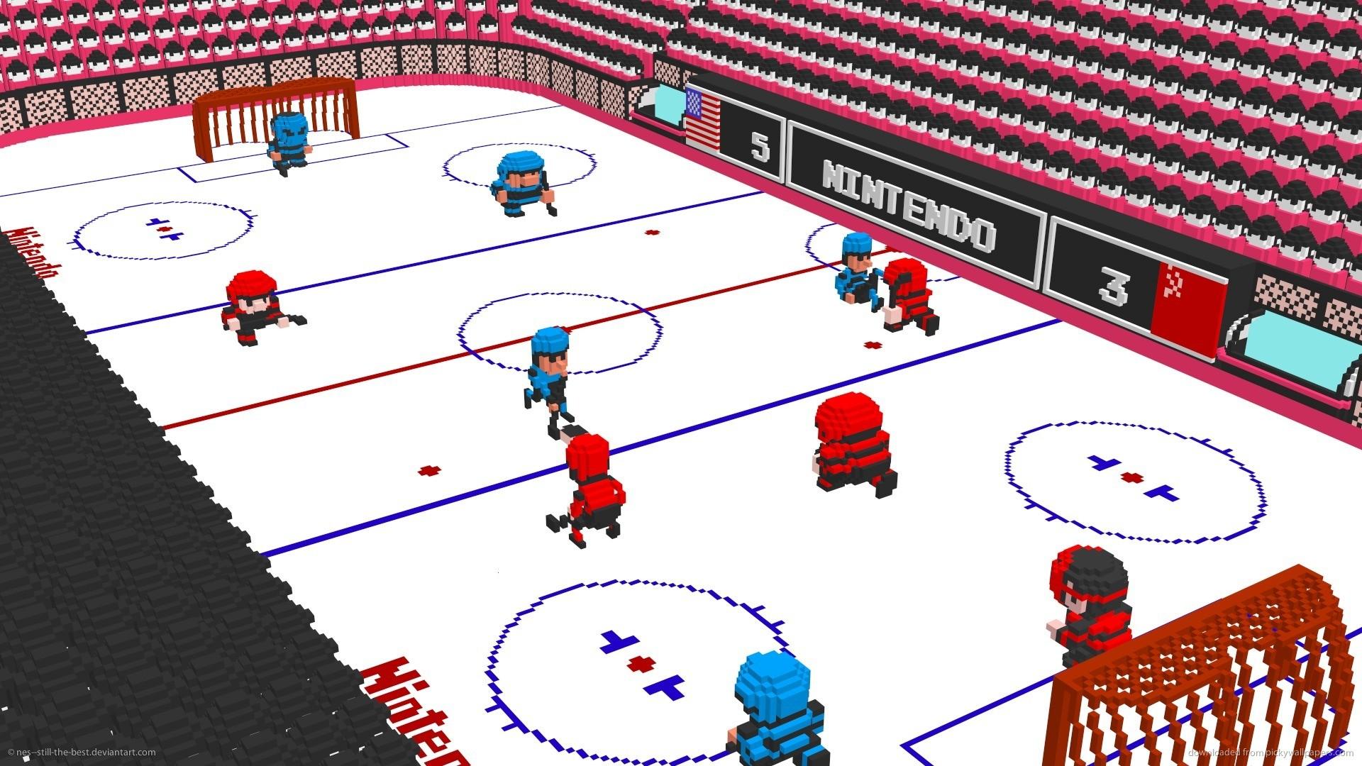 Nintendo 3D Ice Hockey 2 for 1920×1080