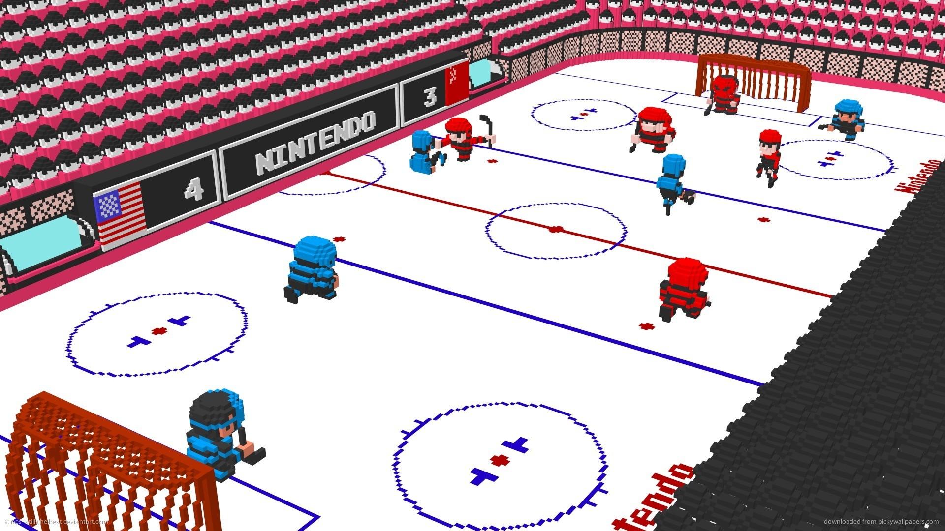 Nintendo 3D Ice Hockey 4 for 1920×1080