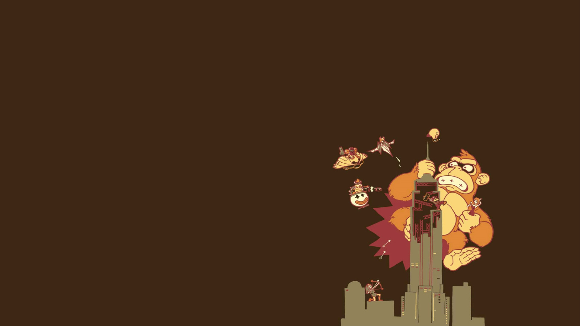 A Very Simple Nintendo Themed Wallpaper [1920×1080] …