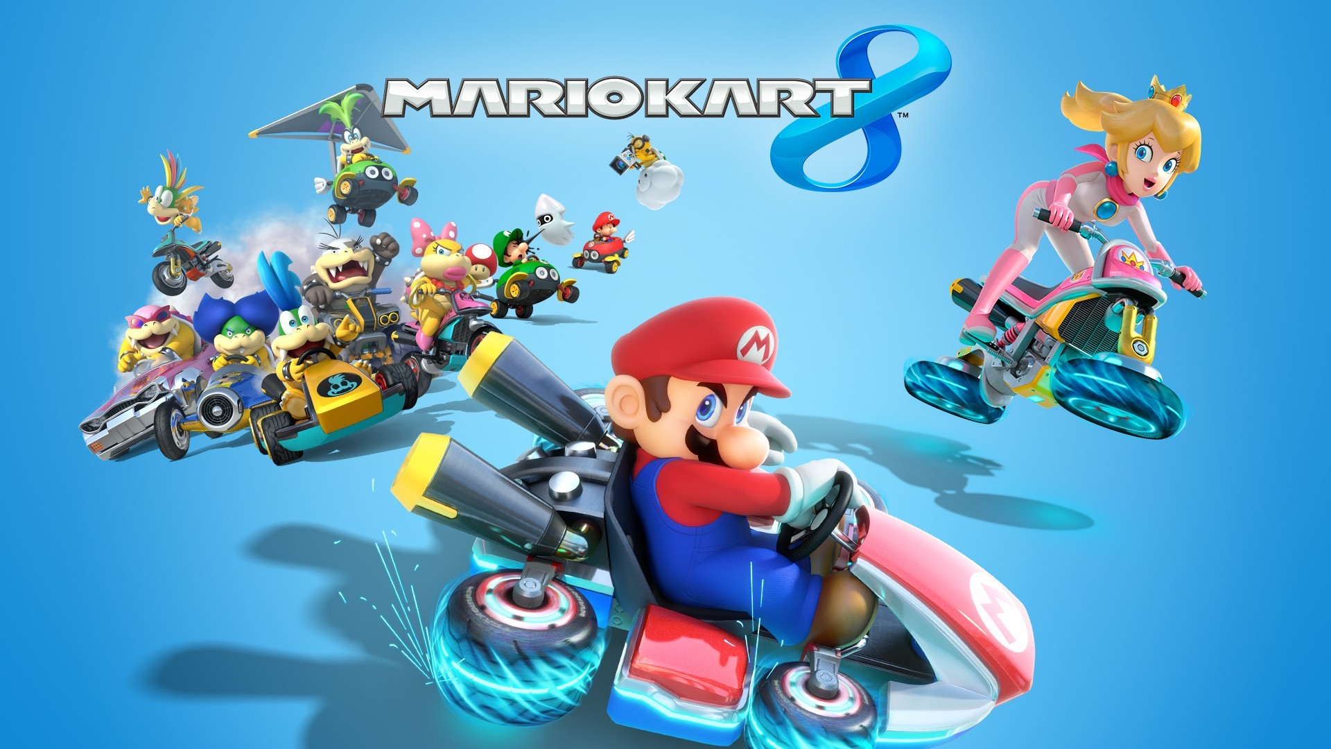 Mario Kart 8, Video Games, Toad (character), Mario Bros.,