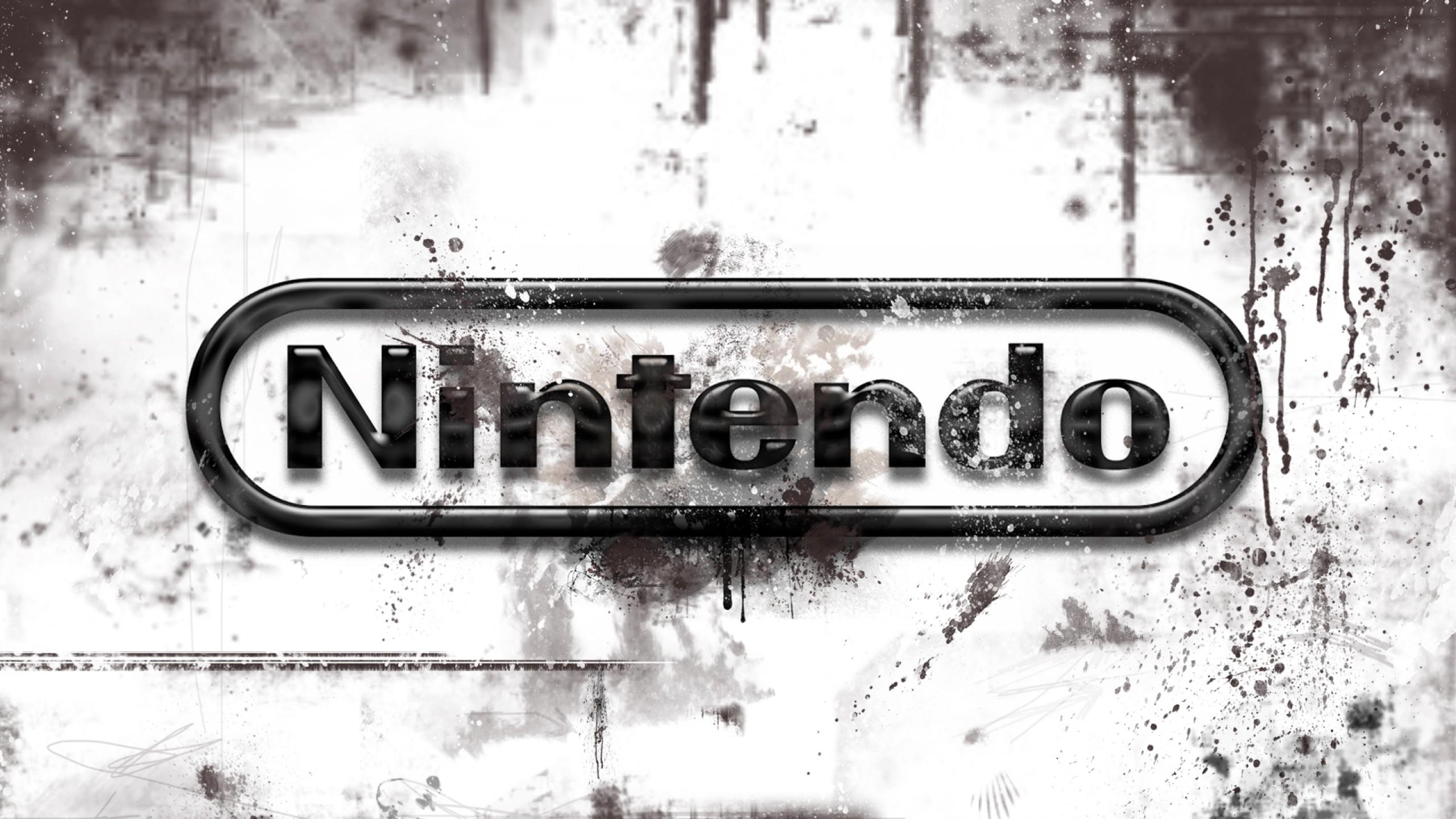 Preview wallpaper nintendo, video games, logo 2560×1440