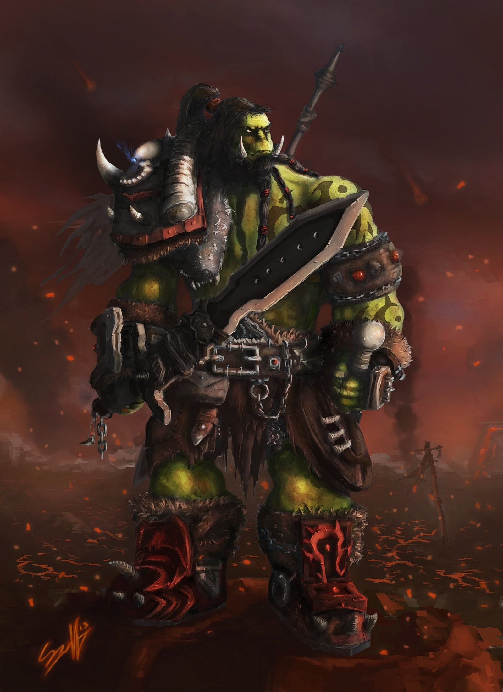 for wow orc shaman wallpaper displaying 19 good pix for wow orc shaman .