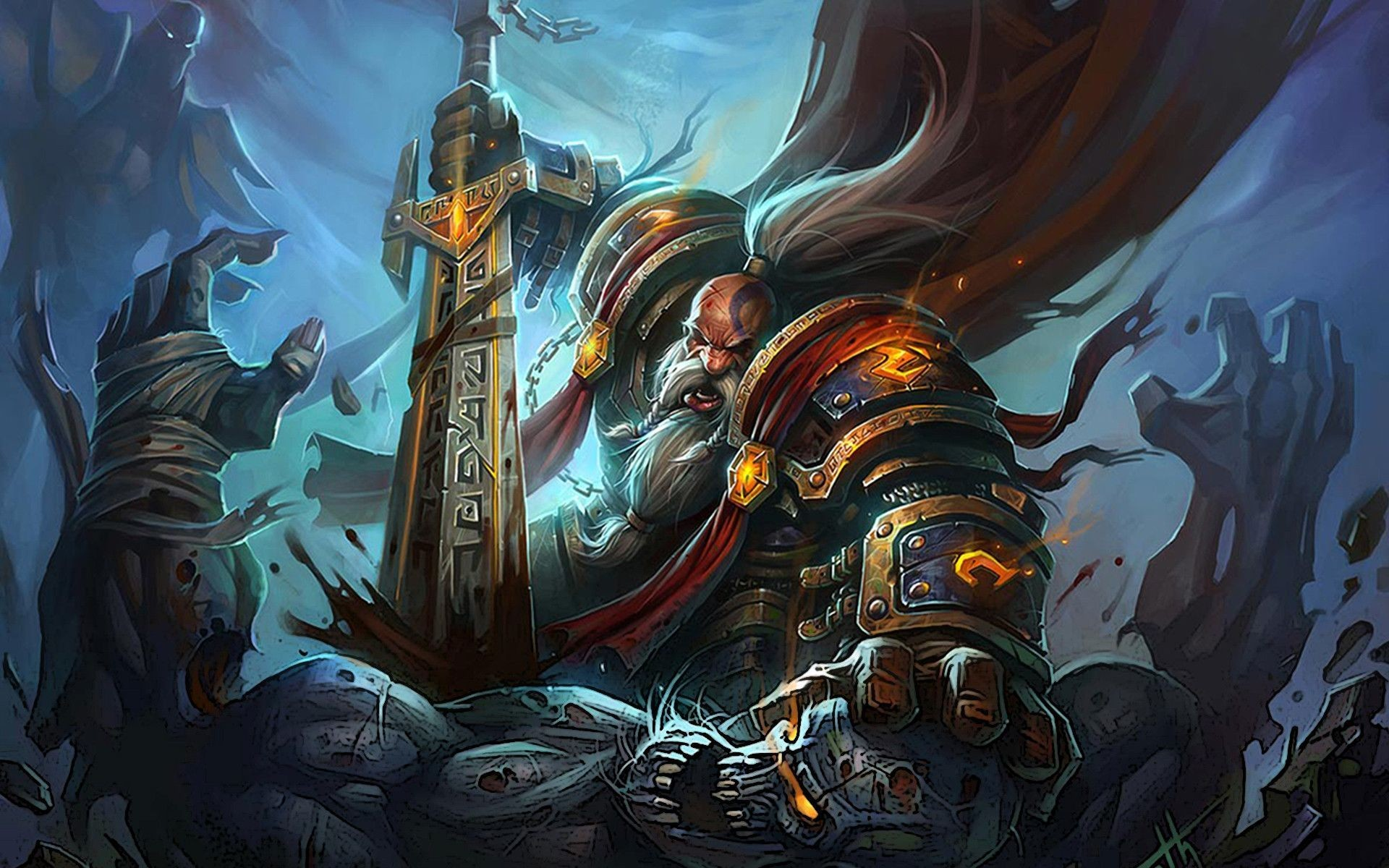 World Of Warcraft Warlords Of Draenor HD Обои Фоны | HD Wallpapers |  Pinterest | Wallpaper and Hd wallpaper