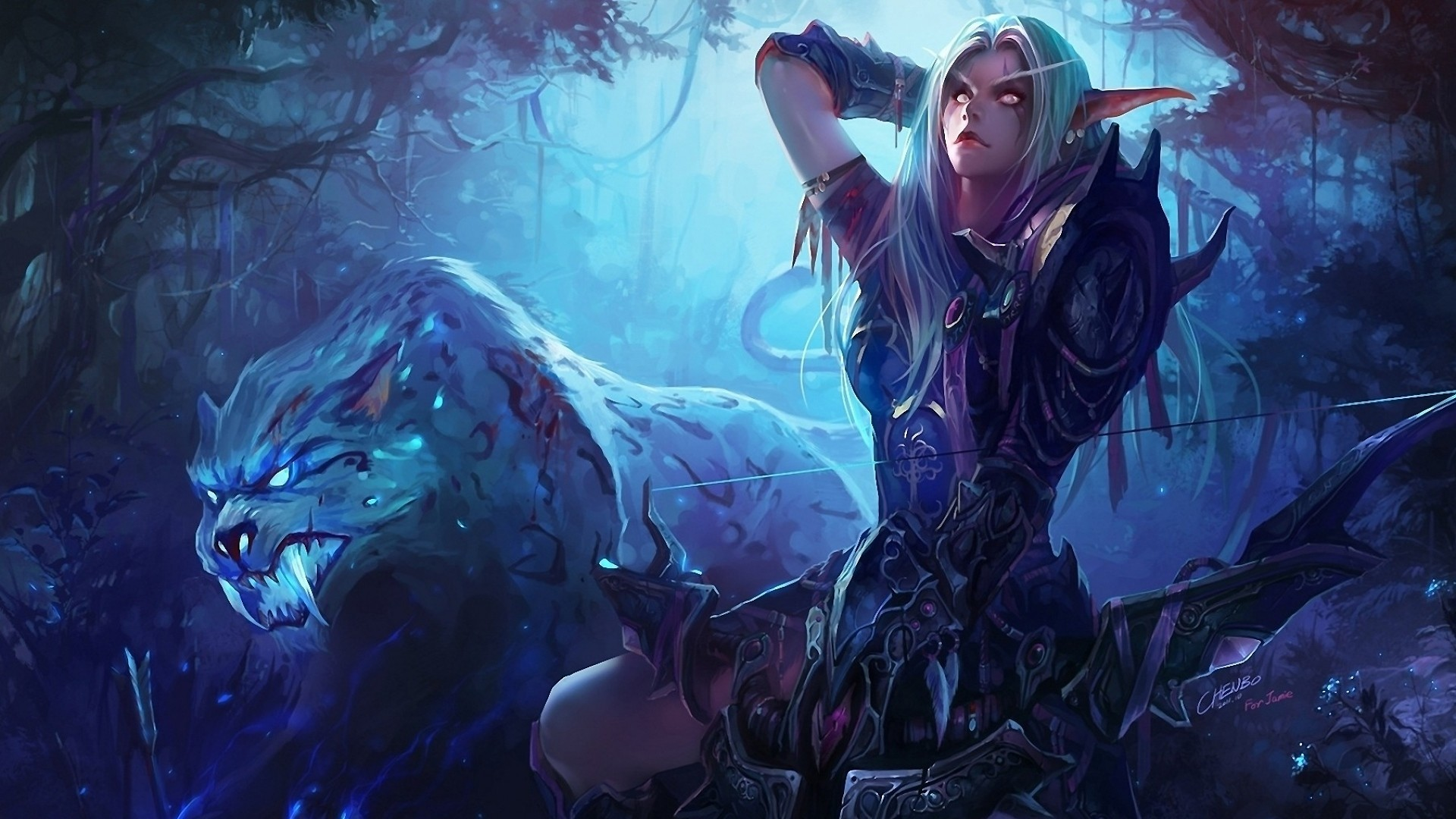 Download Wallpaper Hearthstone, Podcast, Rogue, Hunter .