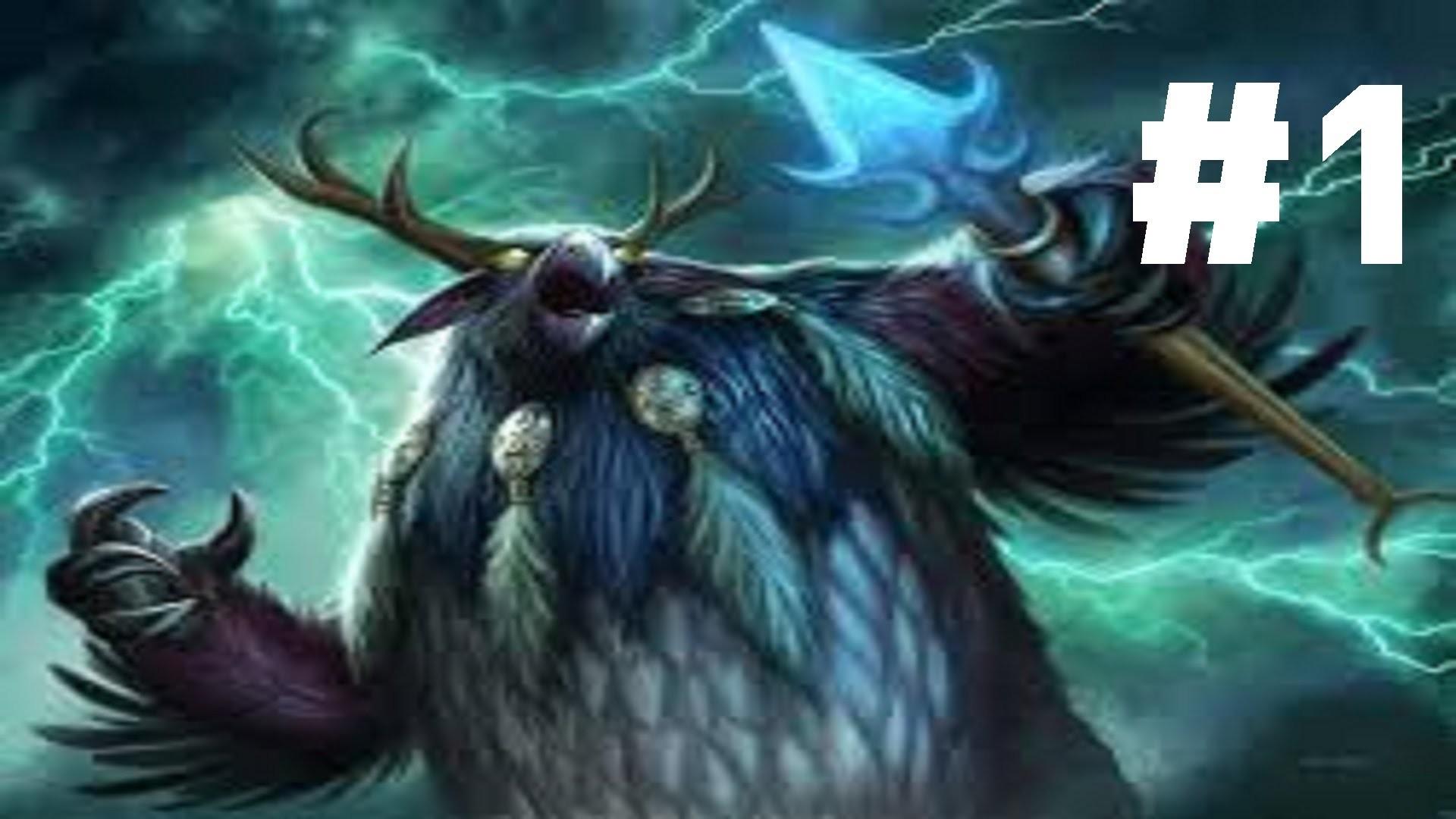 WoW: Leveling a balance druid part 1