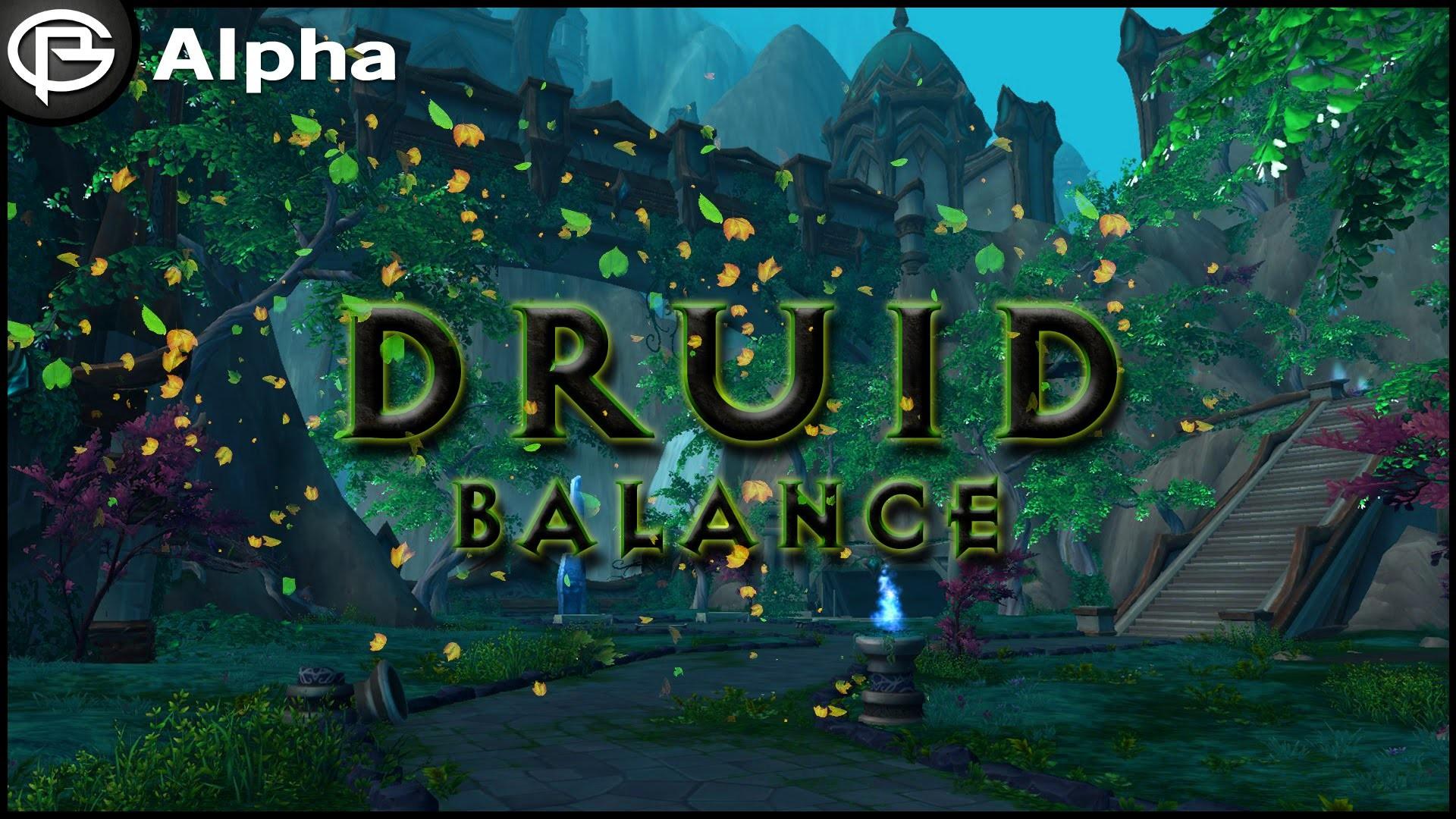 Balance Druid Artifact – Legion Alpha