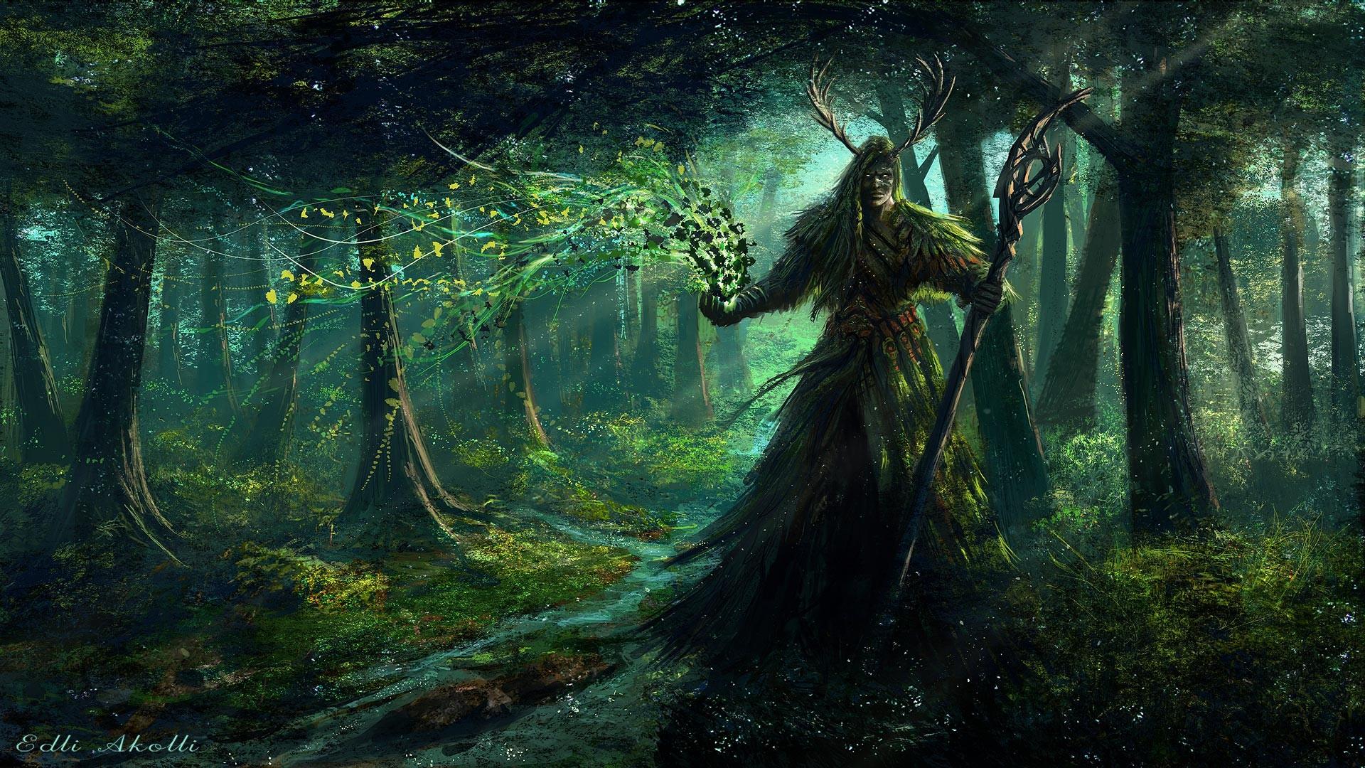 … World Of Warcraft Wallpaper Druid (05) …