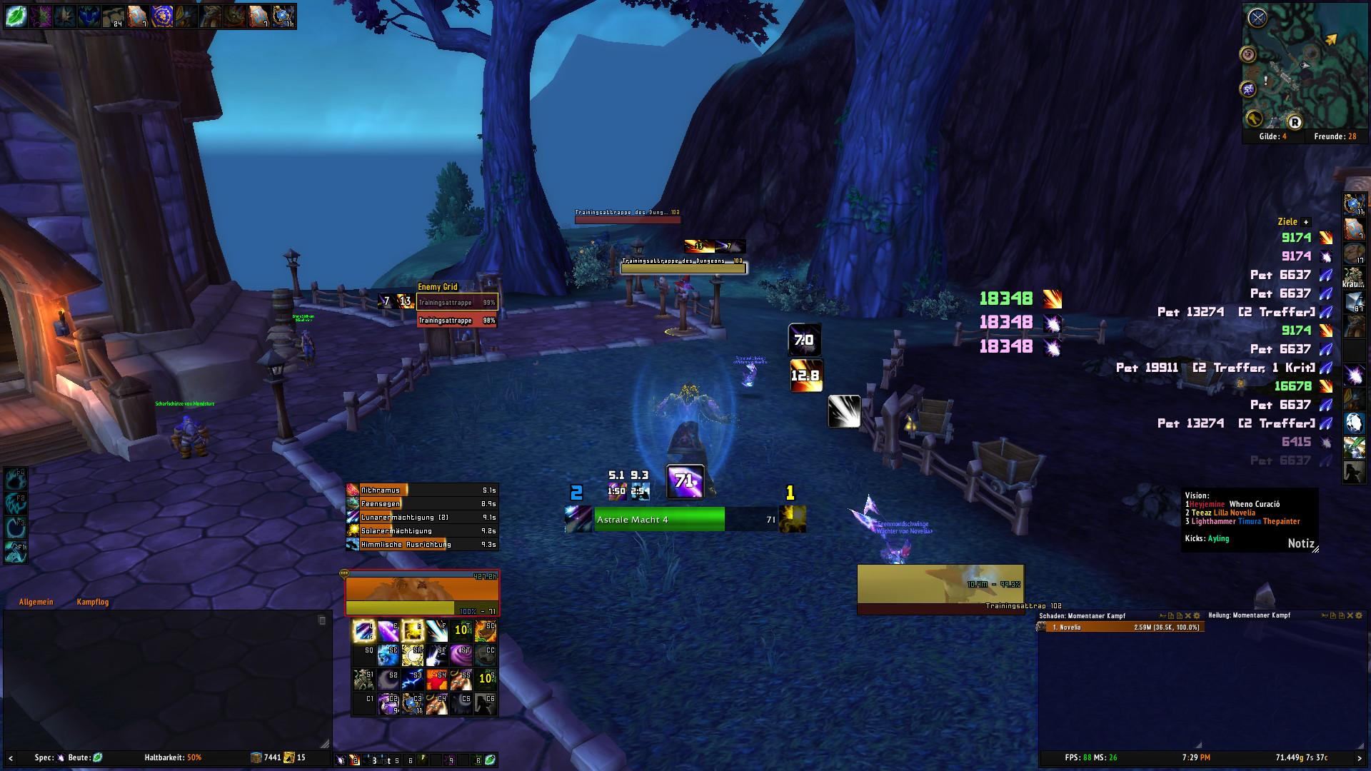 Weakaura Balance Druid 7.0