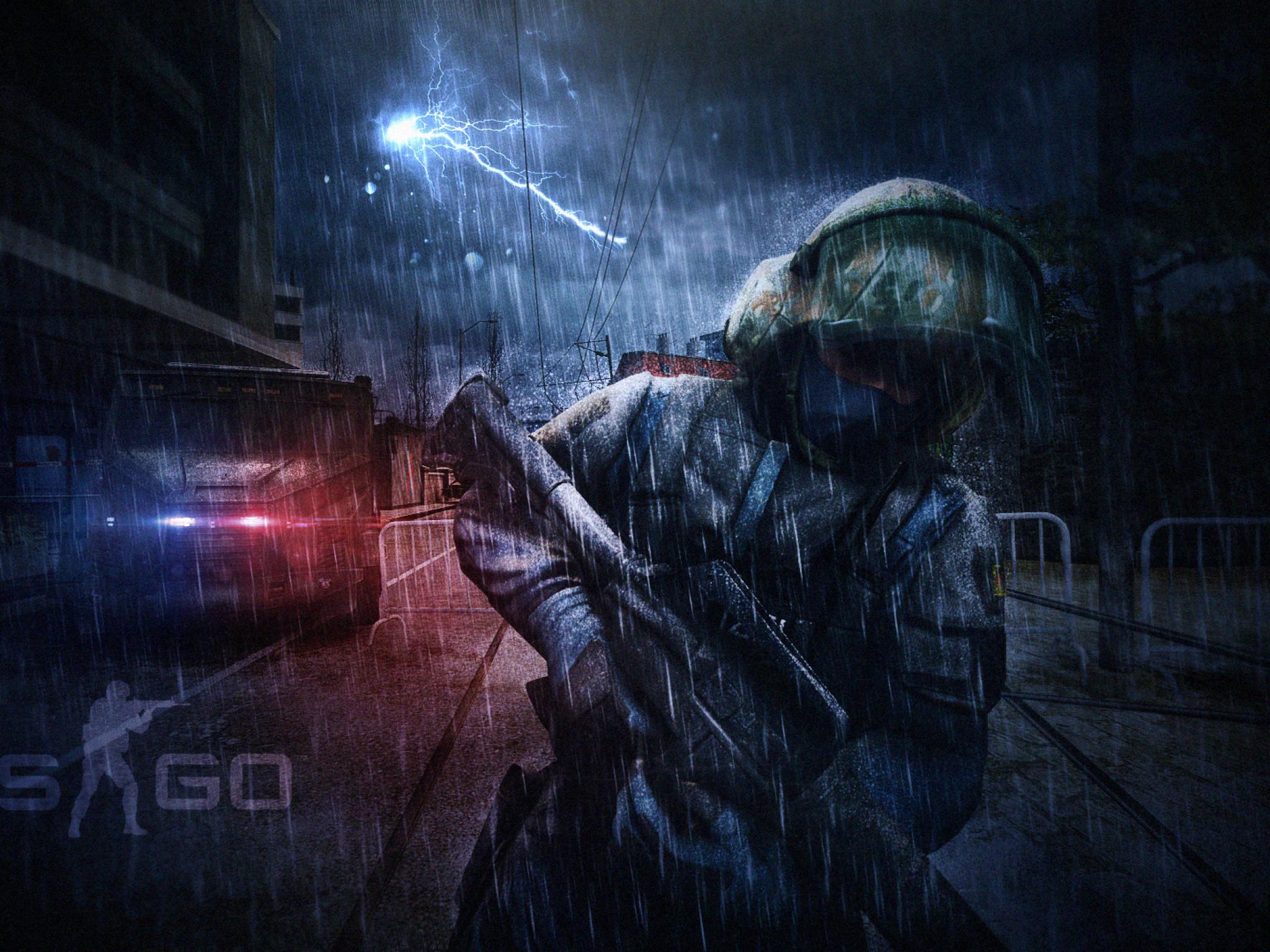 Counter Strike Global Offensive, Cs:go, Lightning, Soldier