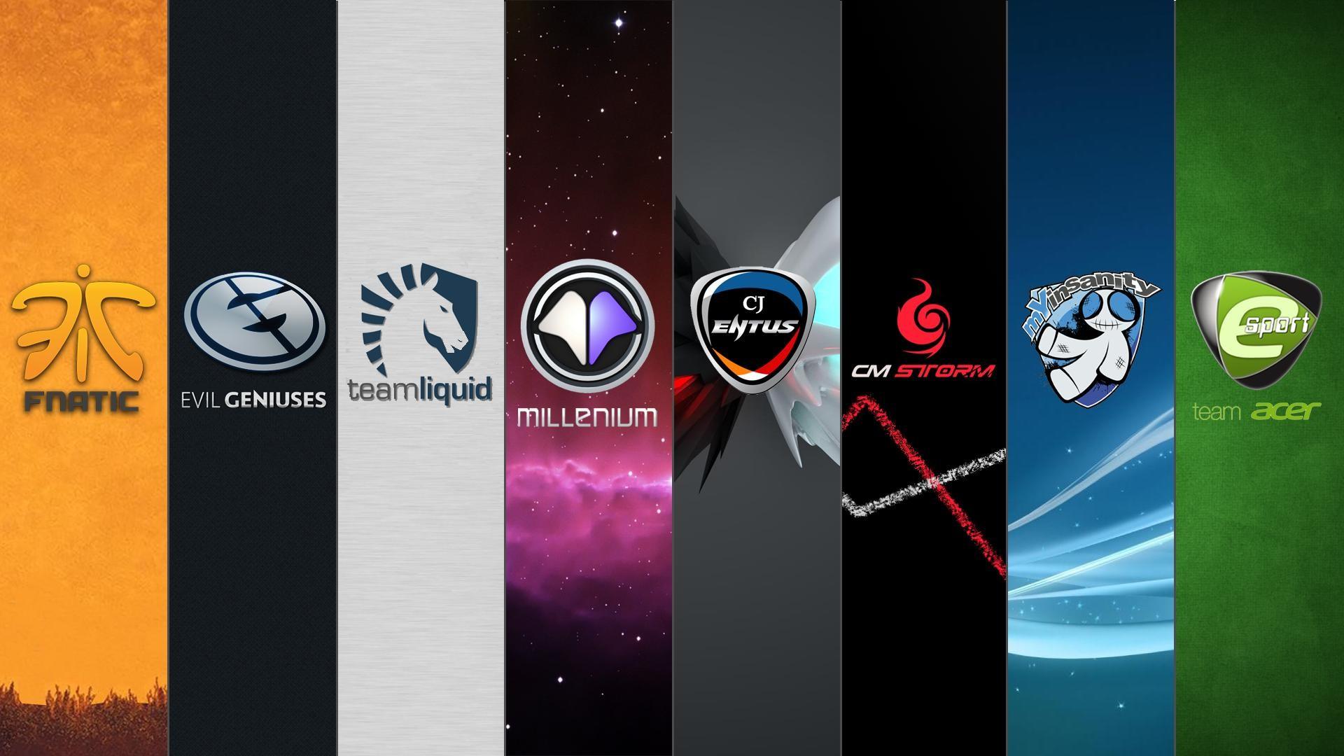 [Art]Wallpaper of Major StarCraft II Teams [OC] …