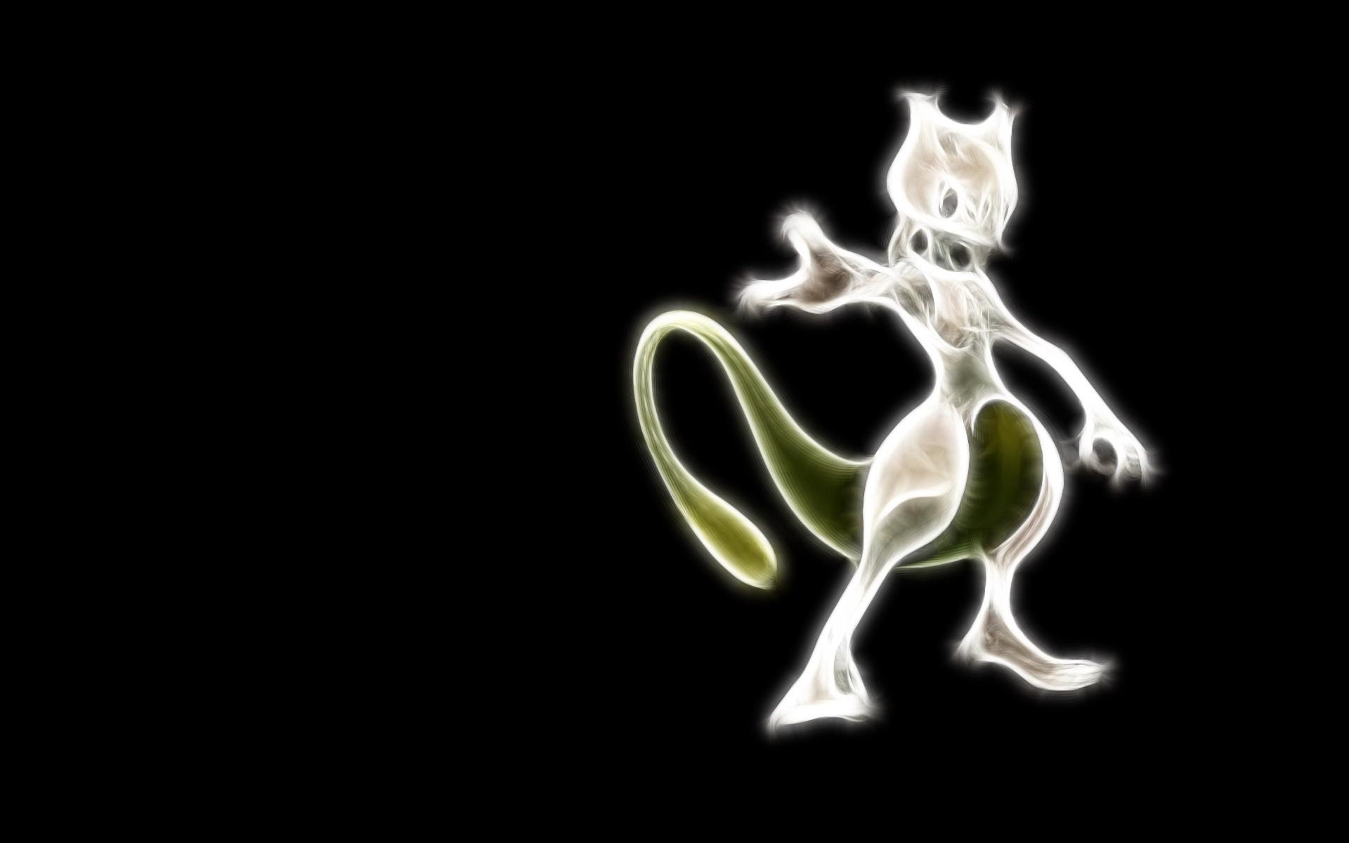 Video Game РPok̩mon Mewtwo (Pok̩mon) Shiny Pok̩mon Wallpaper