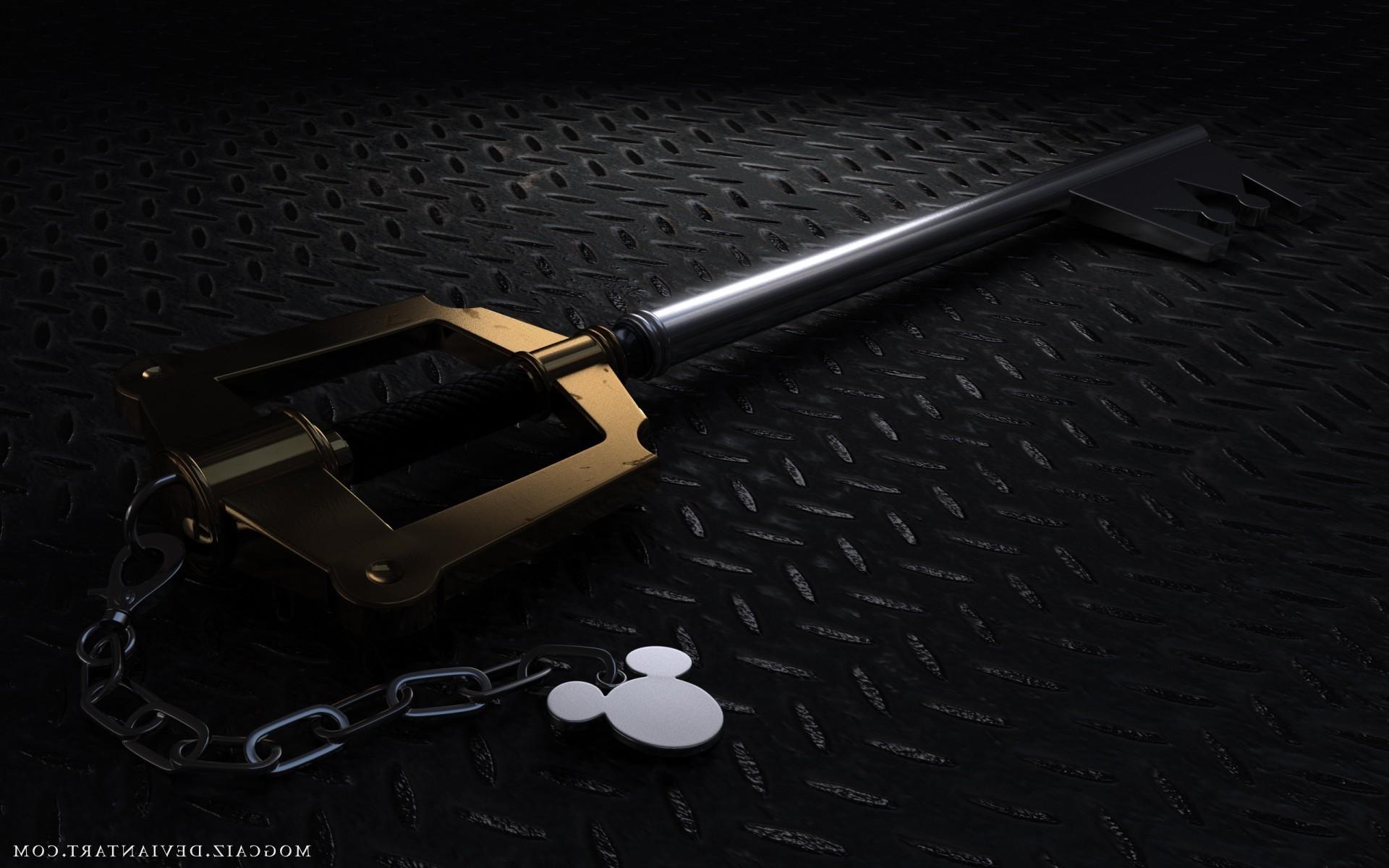 Kingdom Hearts Keyblade Wallpaper
