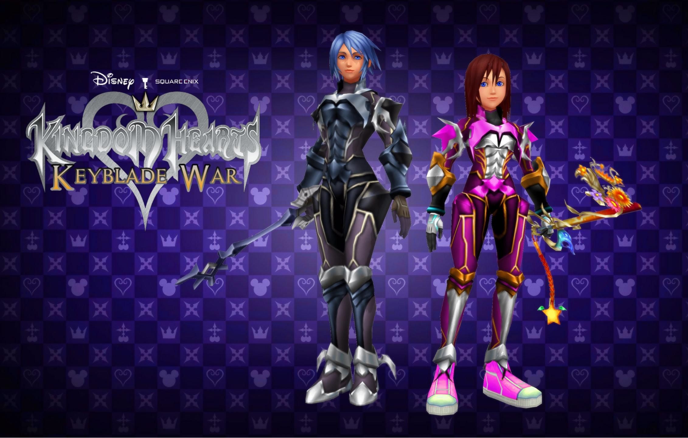 … Kingdom Hearts Keyblade War Custom Wallpaper 04 by todsen19
