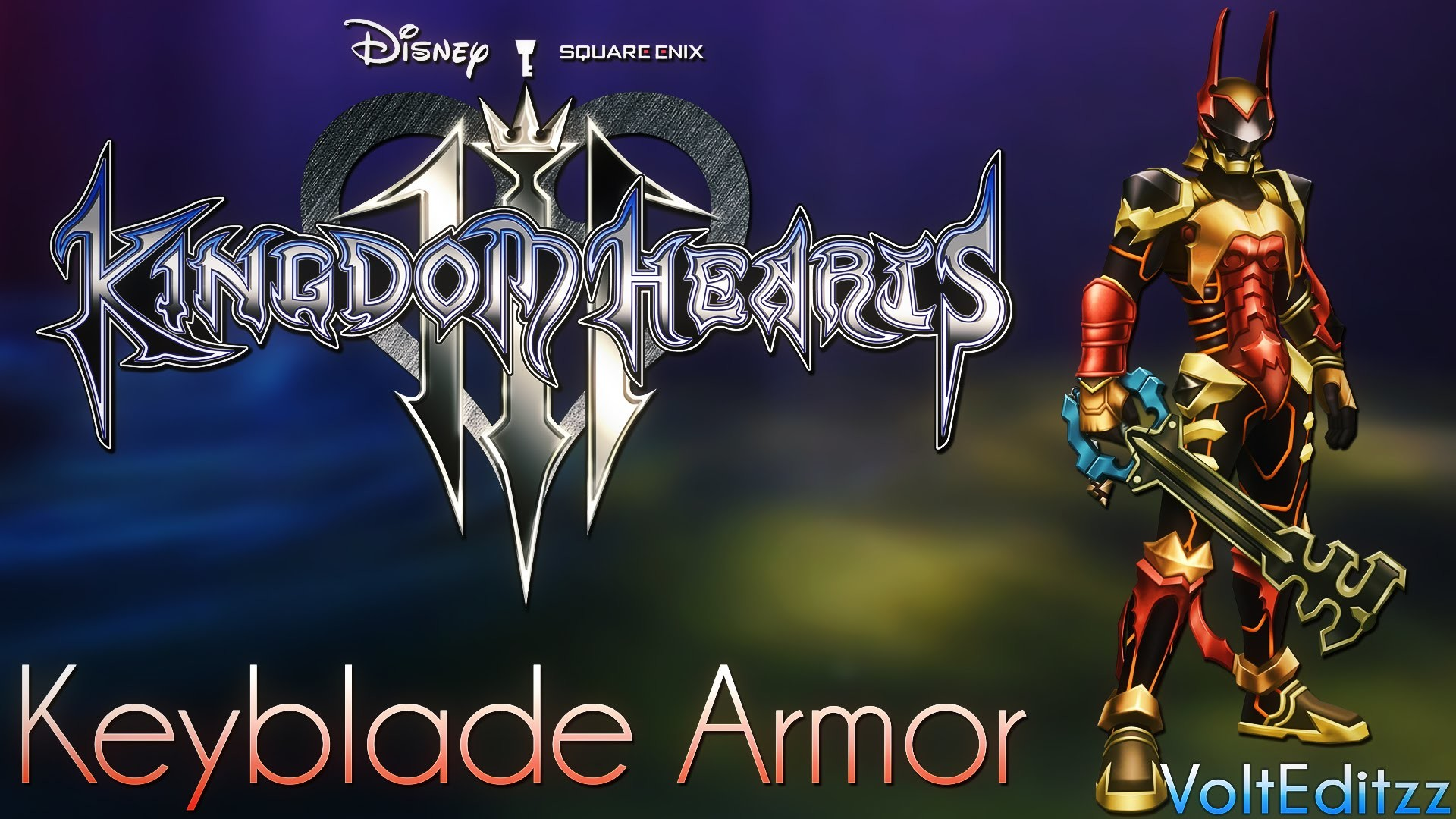 Kingdom Hearts 3 – Keyblade Armor