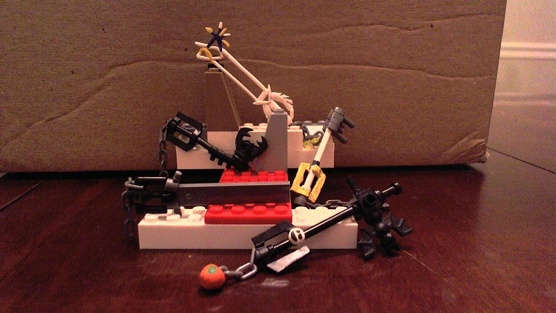 Lego Keyblades Kingdom Hearts – Including Oathkeeper Fenrir and More! –  YouTube