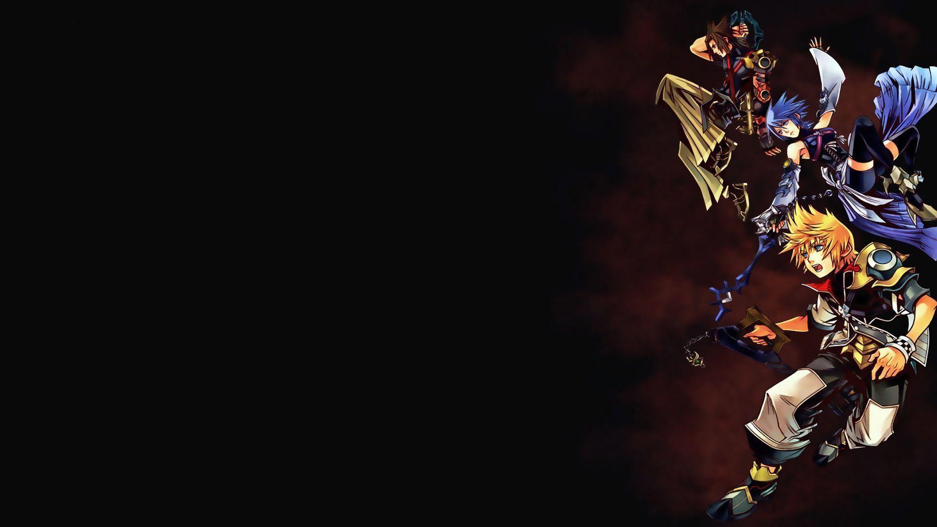 Wallpapers For > Kingdom Hearts Dream Drop Distance Wallpaper .