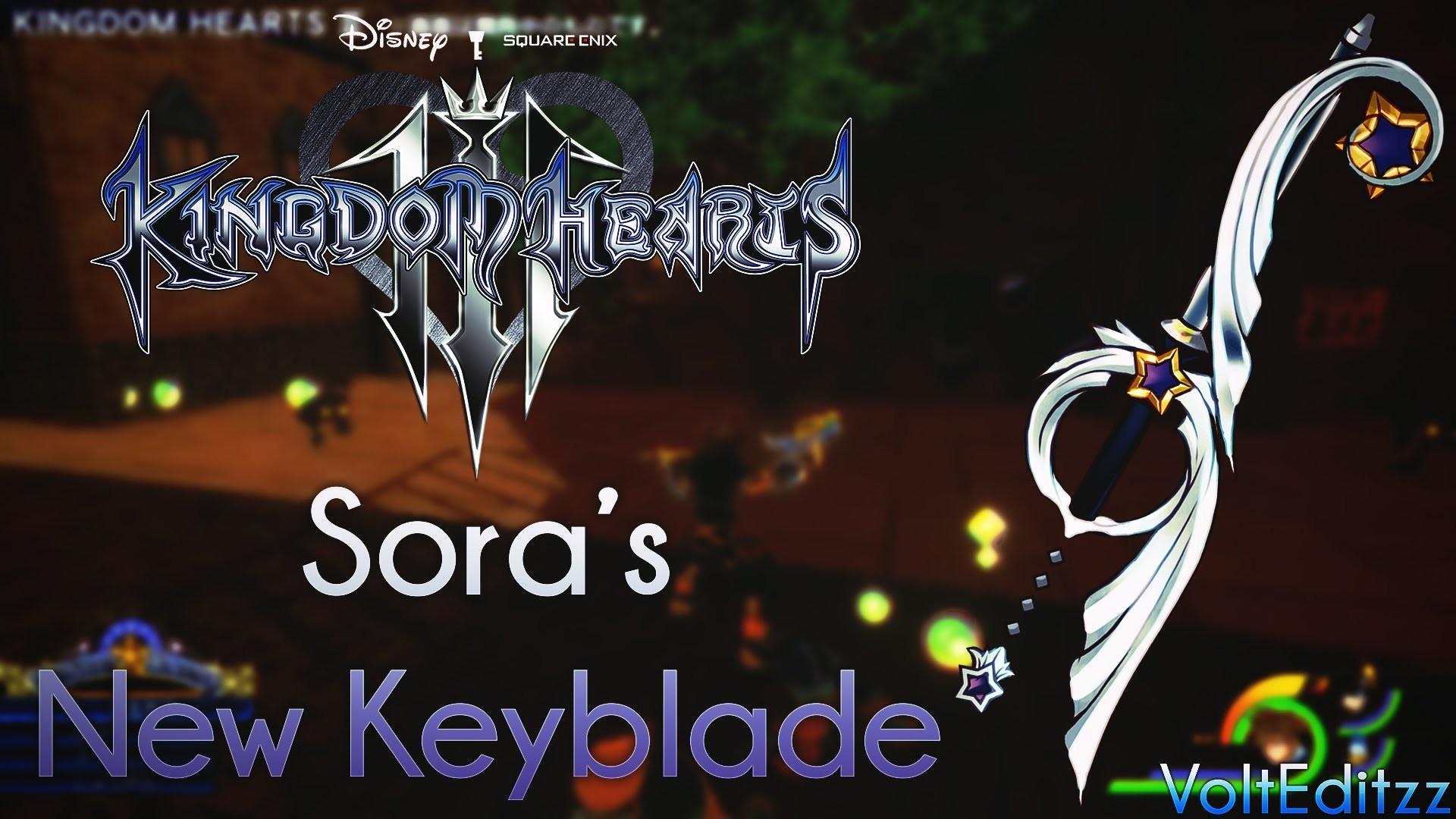 Kingdom Hearts 3 – Sora's New Keyblade (Recreated by KHInsider)
