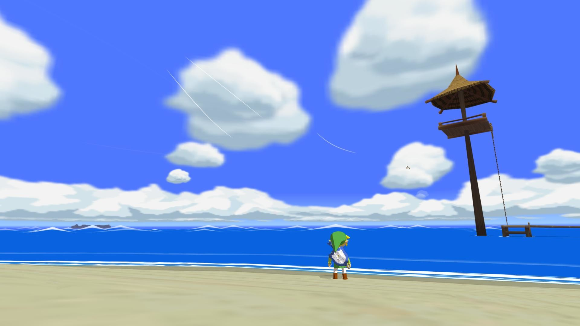 Beautiful Wind Waker wallpaper I've been using for 2 years. Unfortunately I  can't remember the source …