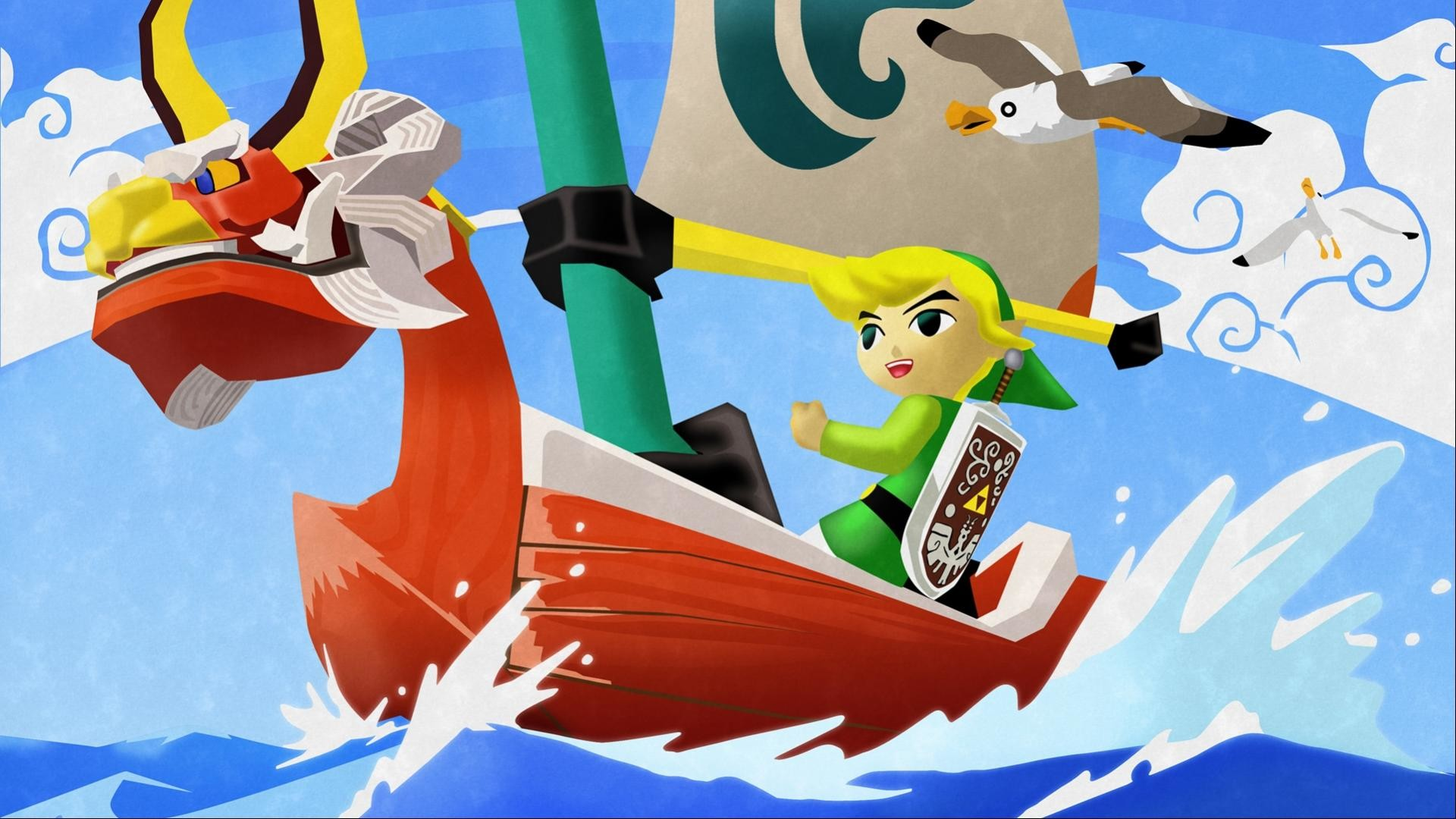 Zelda Wind Waker HD Wallpaper | Cool Wallpapers