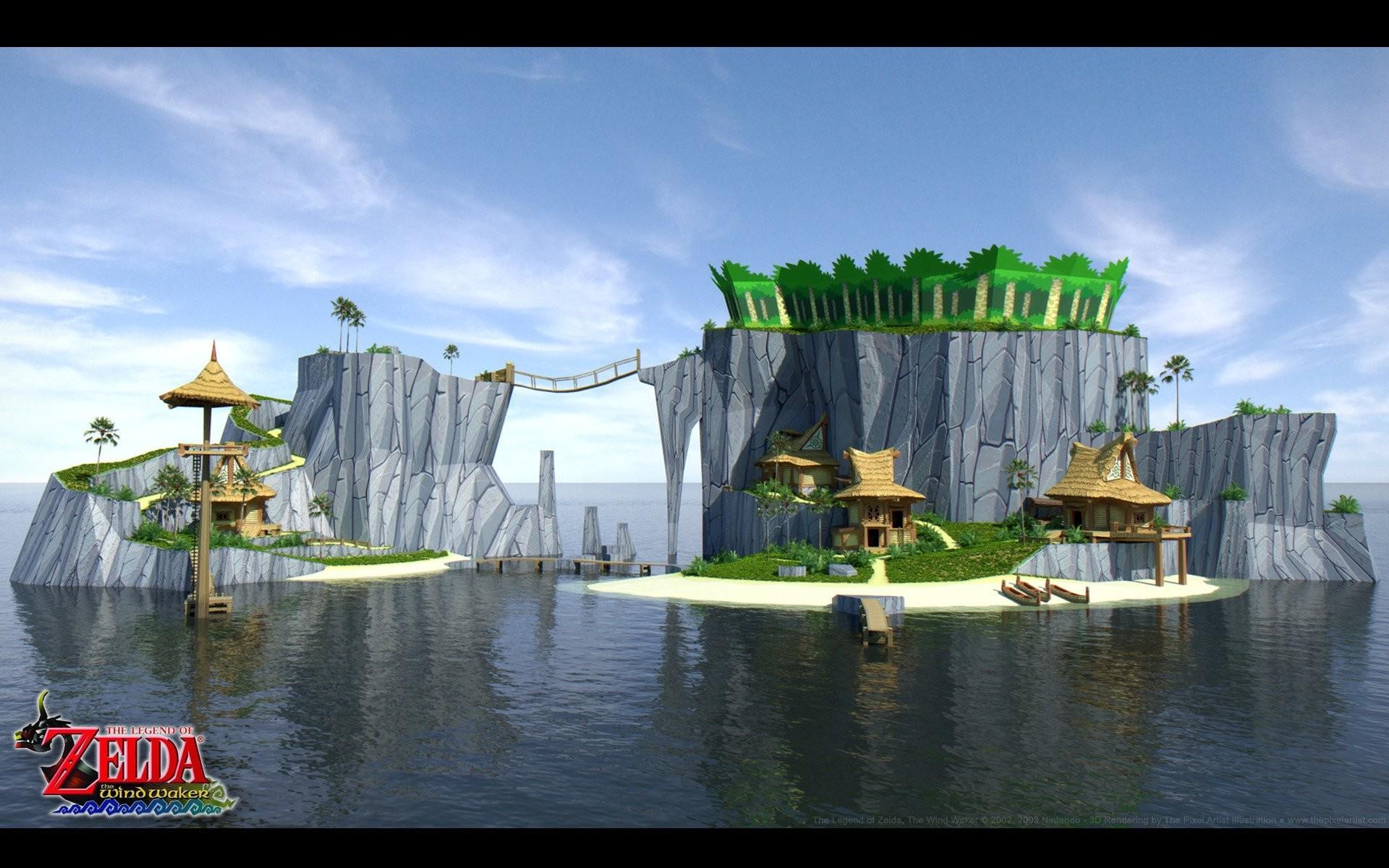 The Legend of Zelda The Legend of Zelda: The Wind Waker Outset Island  wallpaper | | 253513 | WallpaperUP