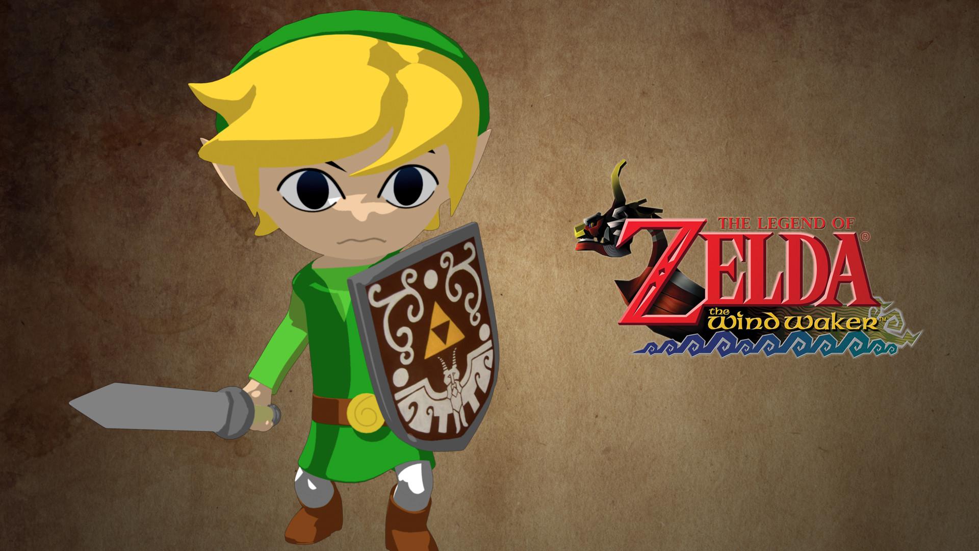 … The Legend of Zelda Wind Waker – Wallpaper by Elrohironip