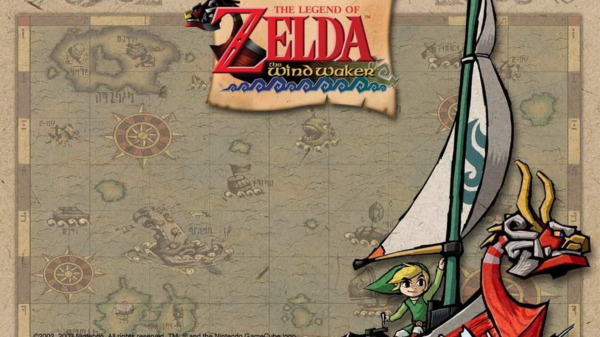 The Legend of Zelda Wind Waker HD Wii U Wallpapers Â« GamingBolt.com .