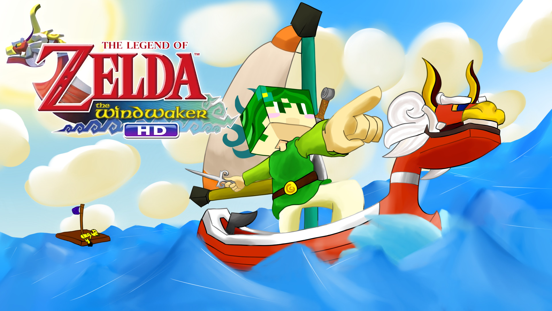 … Legend of Zelda: The Wind Waker HD Thumbnail :D by BananaPsycho