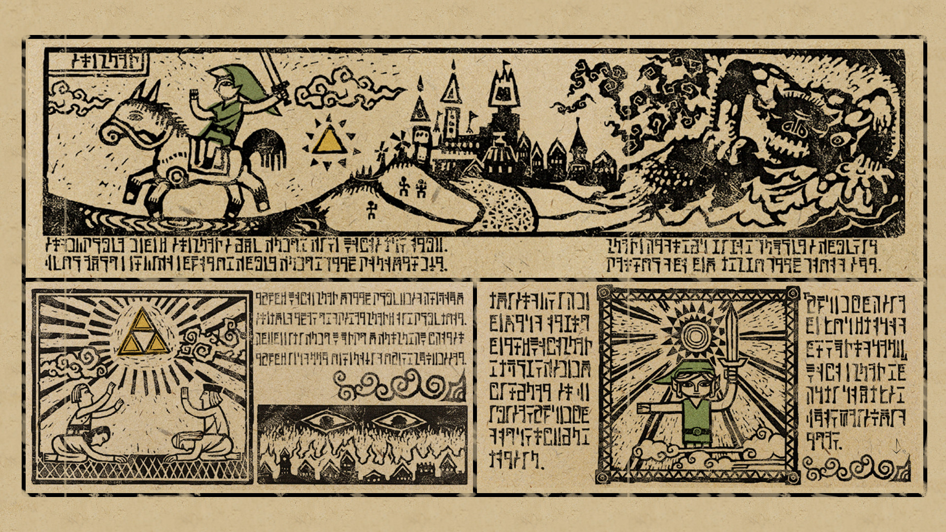 Video Game – The Legend of Zelda: The Wind Waker Wallpaper