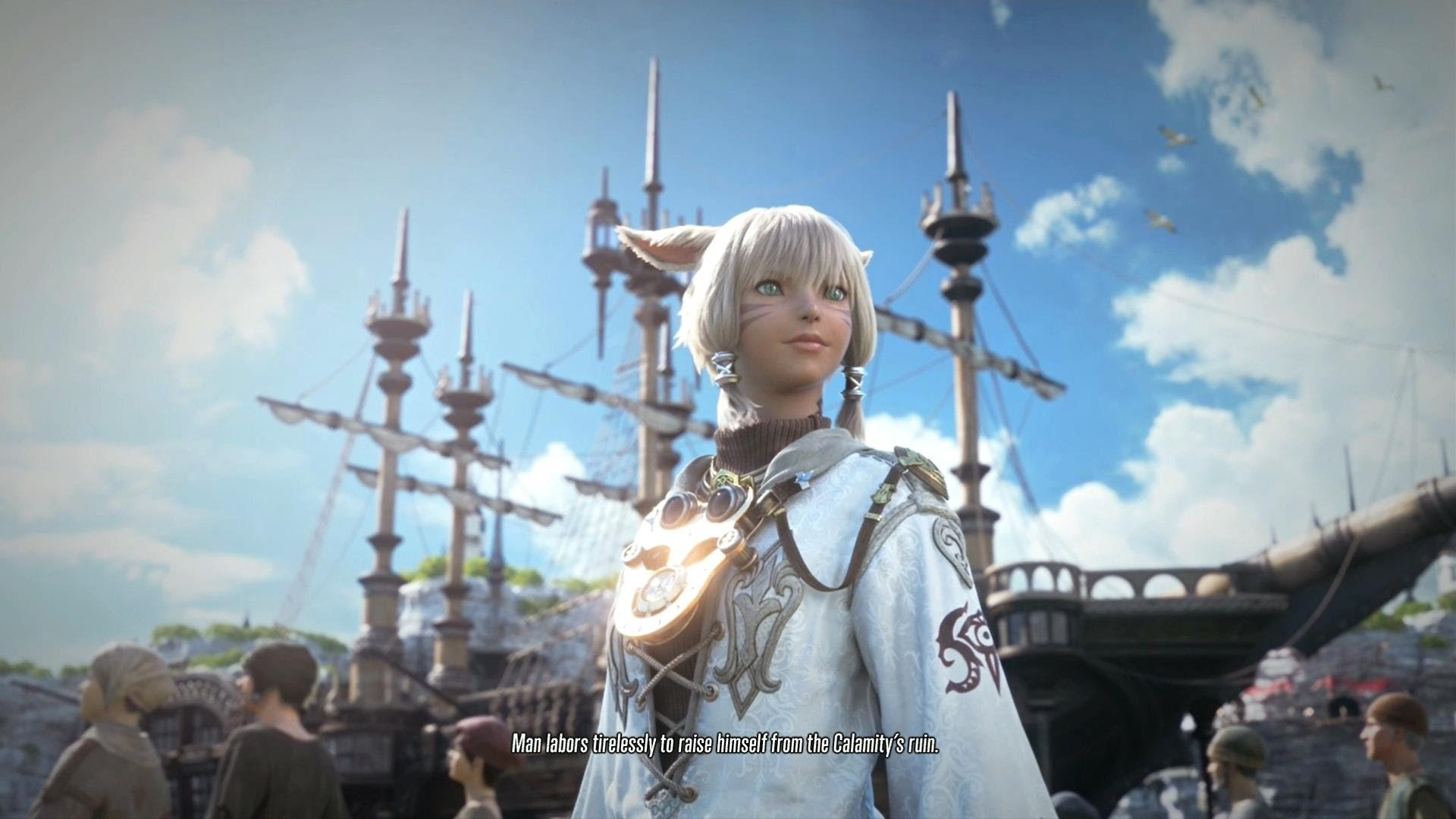Final Fantasy XIV: A Realm Reborn – PS4 Beta – 30 Minutes of Gameplay (1080p)  – YouTube