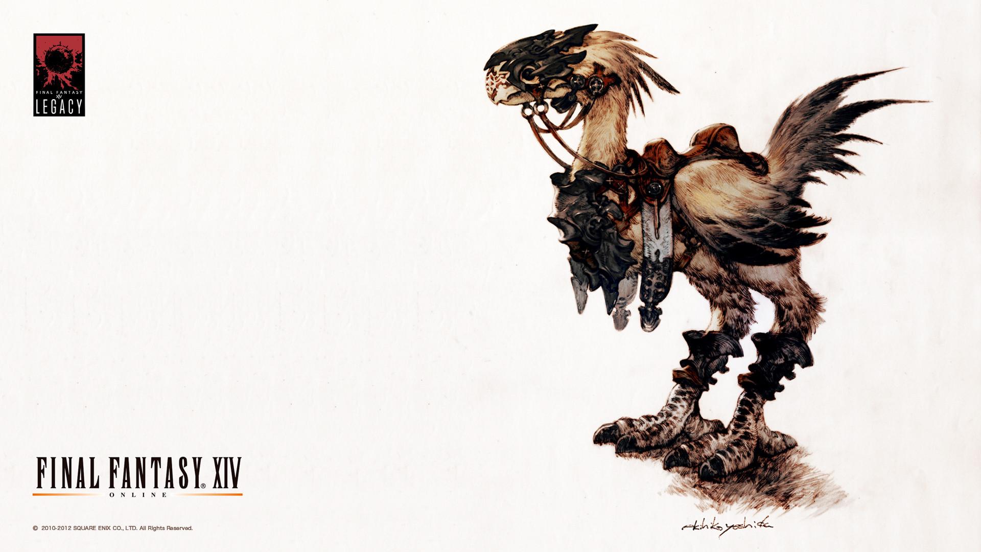 Image – FFXIV Wallpaper Chocobo.jpg | Final Fantasy Wiki | FANDOM  powered by Wikia