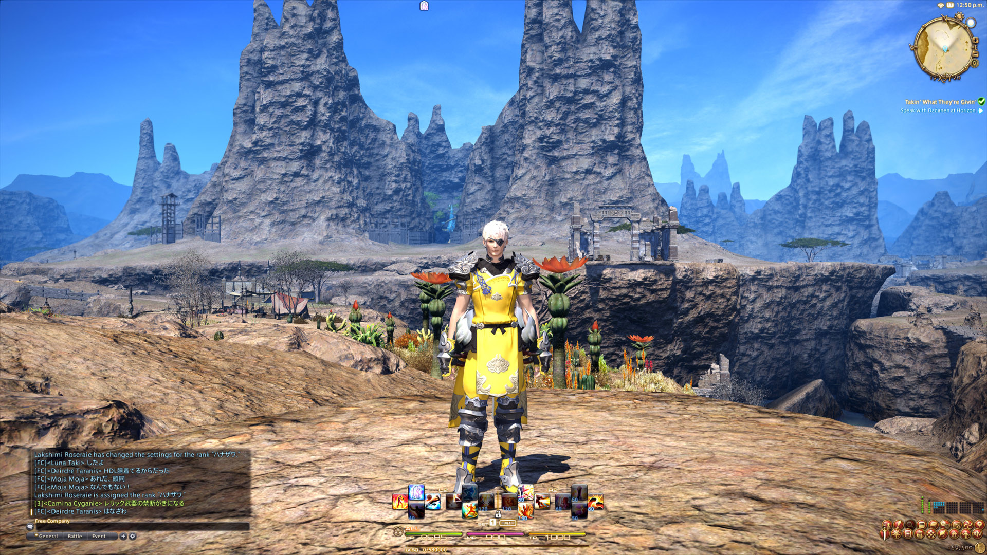 FFXIV: ARR at 1440p down-sampled to 1080p with 4x SGSSAA looks like this: