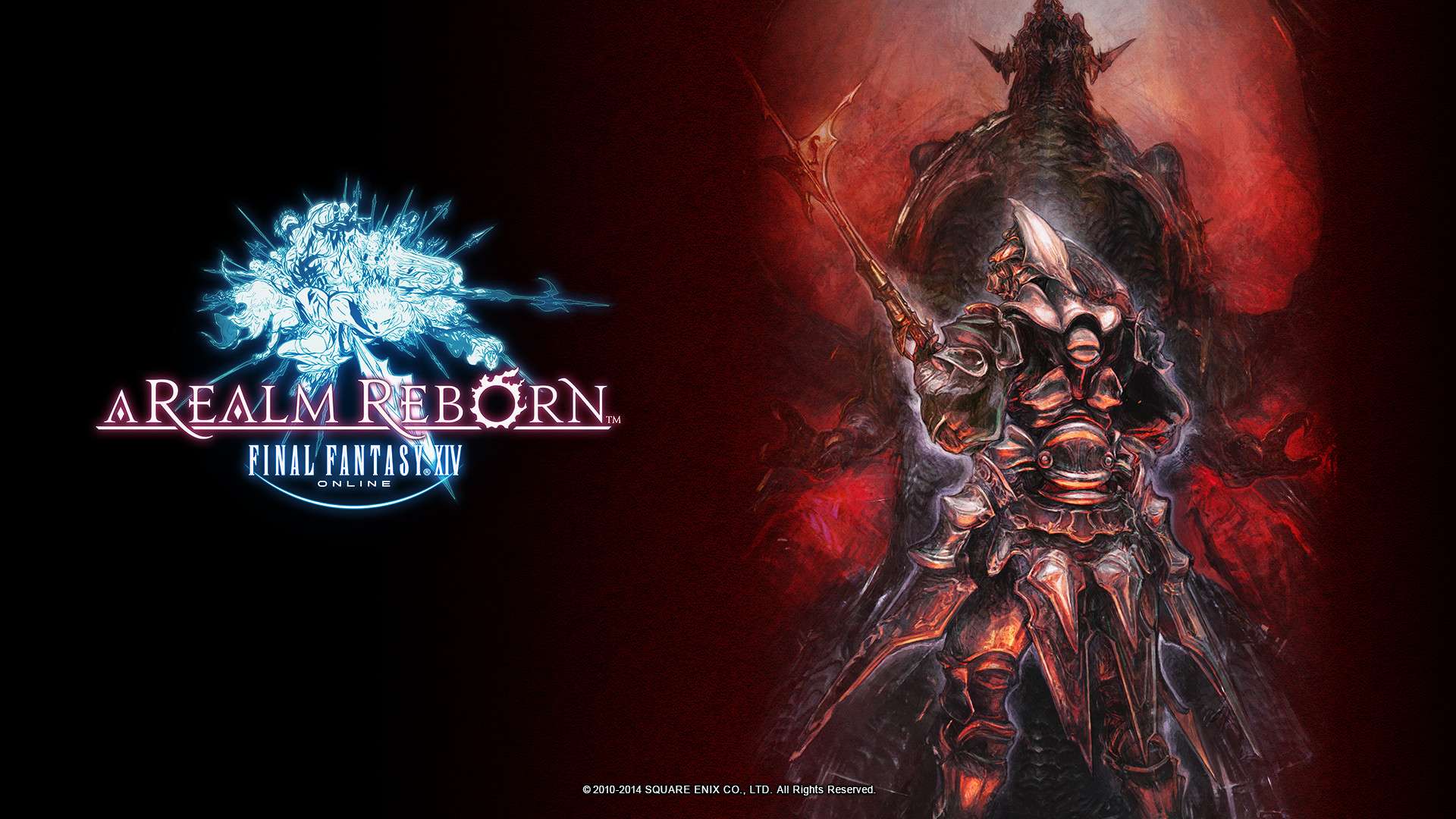 Square Enix has released new amazing Final Fantasy XIV: A Realm Reborn  wallpapers! This time they are featuring Gaius and Bahamut, who are main  villains in …