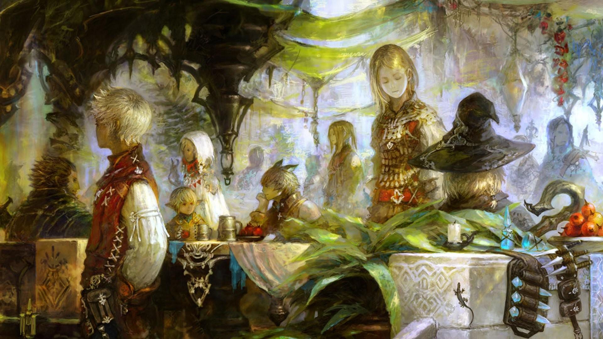 Final Fantasy Xiv Concept Art 421126