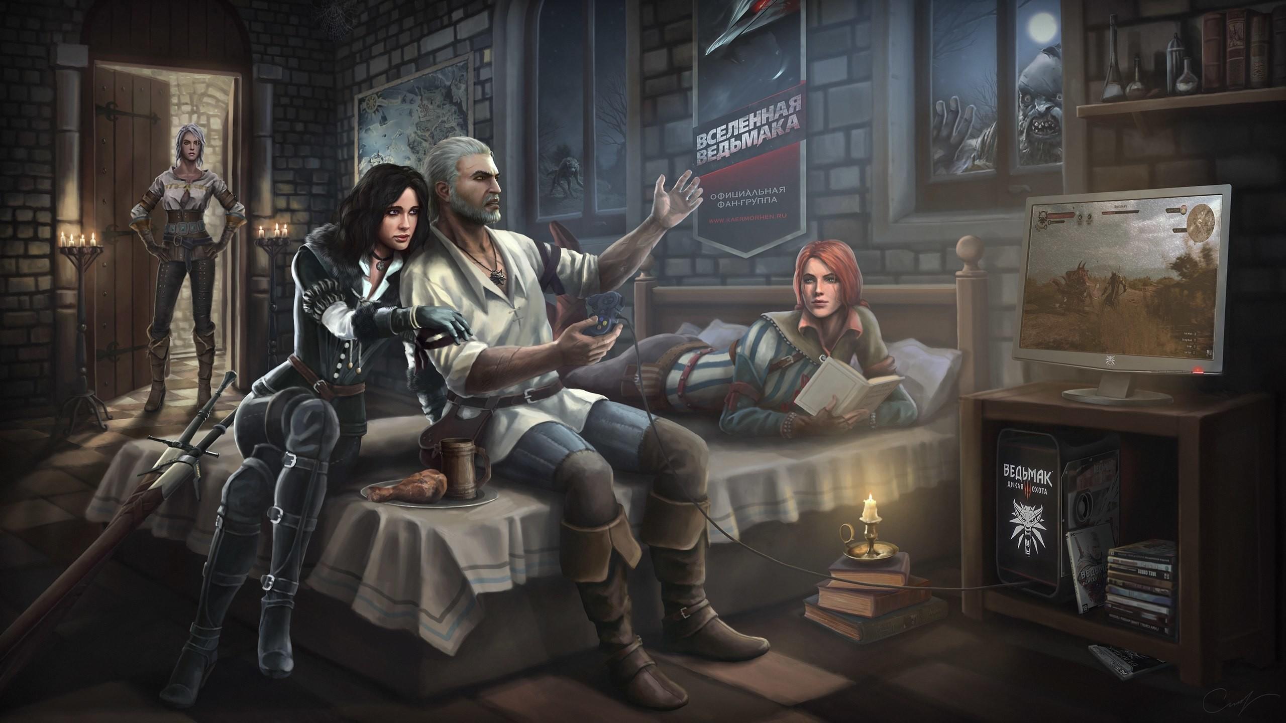 The-Witcher-3-Wild-Hunt-Gentral-HD-Wallpaper.jpg (JPEG obrázek, 2560 × 1440  bodů) – Měřítko (65%)   Witcher 3 Wild Hunt   Pinterest   Wild hunt and …