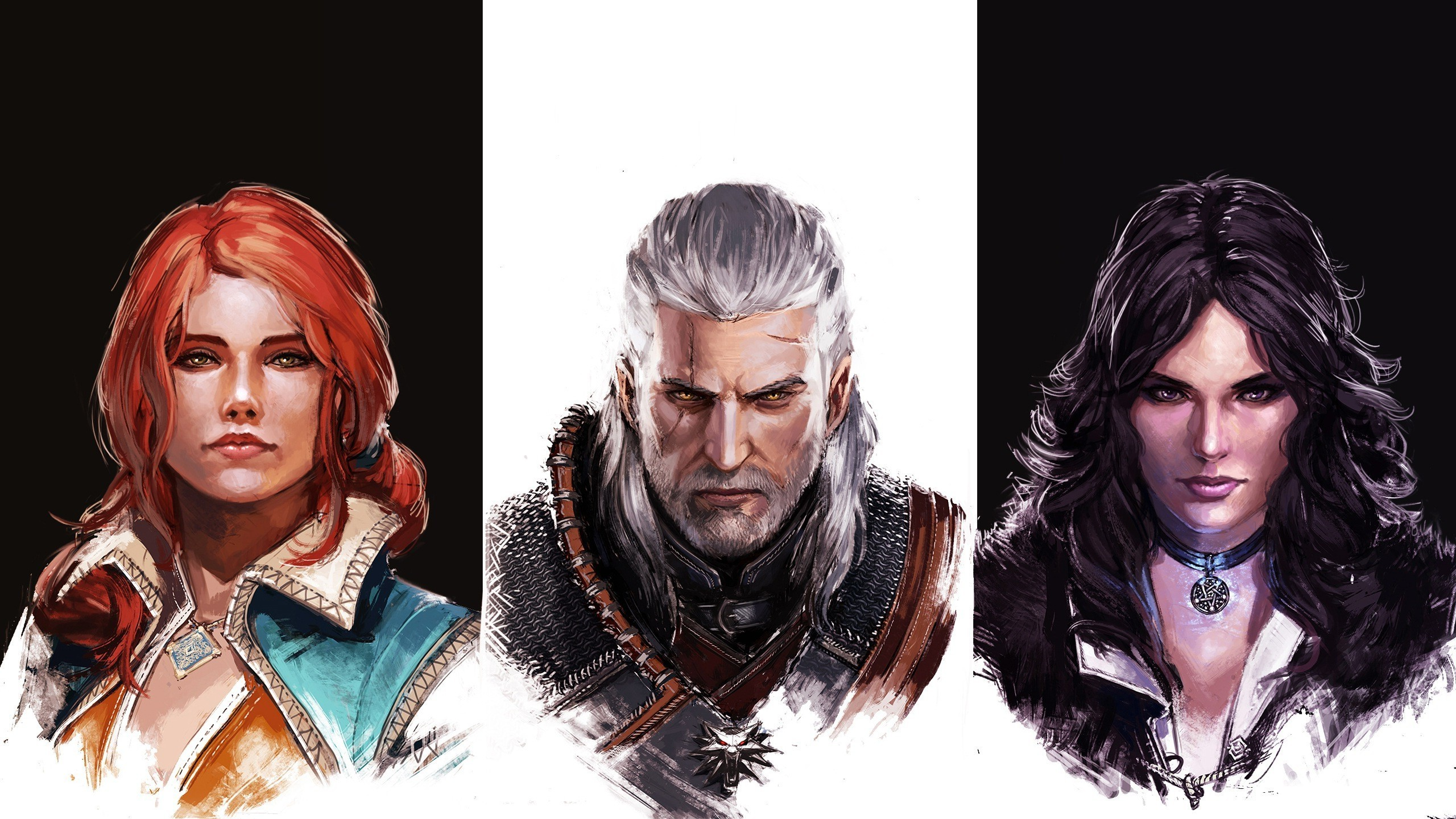 The Witcher, Triss Merigold, Geralt Of Rivia, Yennefer Of Vengerberg, The  Witcher 3: Wild Hunt, Video Games Wallpapers HD / Desktop and Mobile  Backgrounds
