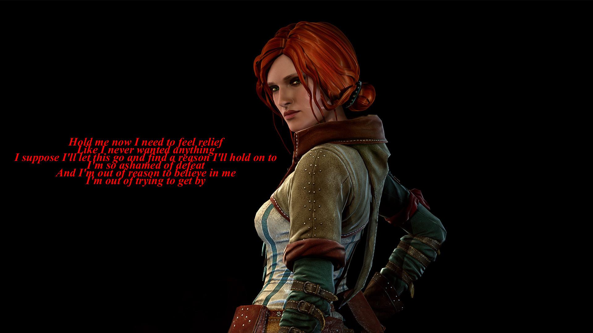 Video Game – The Witcher 3: Wild Hunt Triss Merigold Wallpaper