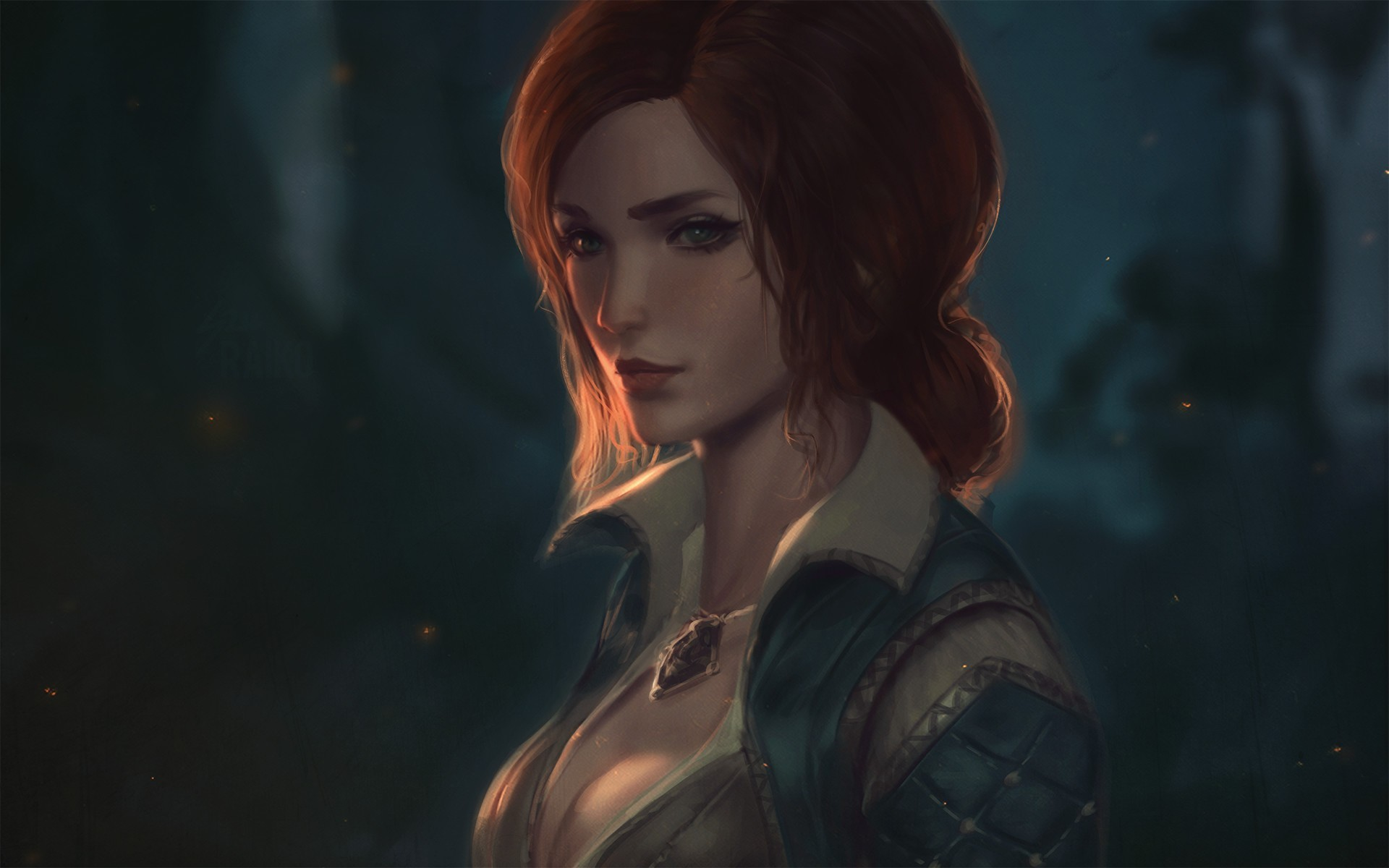 witch, Redhead, Triss Merigold, The Witcher Wallpapers HD / Desktop and  Mobile Backgrounds